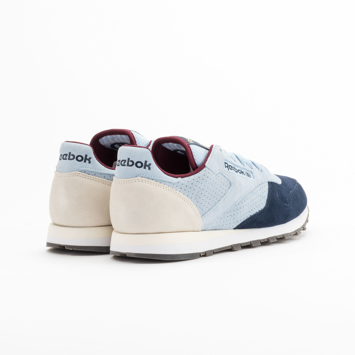 Reebok Classic Leather Int Navy / Light Blue / Sand V66829-45