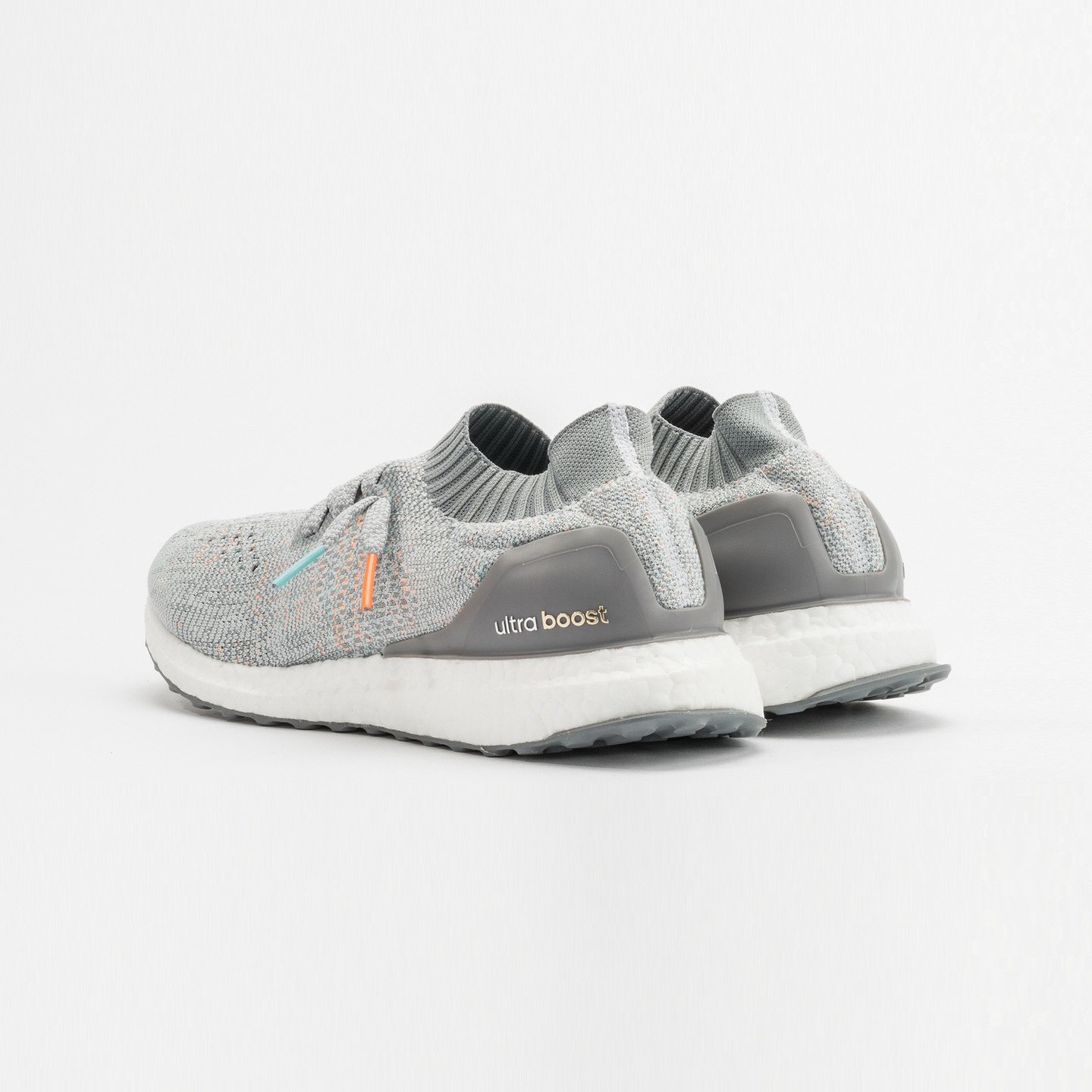Adidas Ultra Boost Uncaged 'Miami Dolphins' Clear Grey / Mid Grey / Orange / Aqua BB4489-42