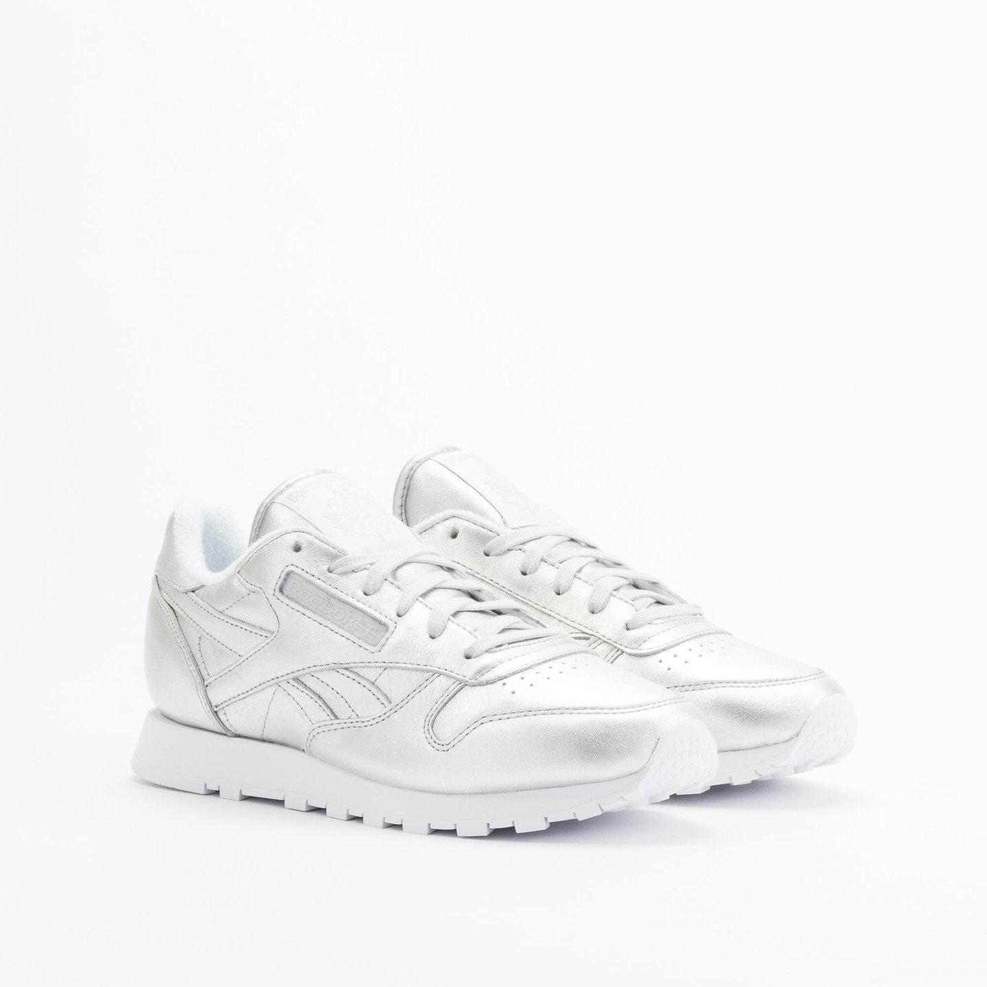 Reebok Classic Leather Spirit Presence Silver / White V62700-40.5