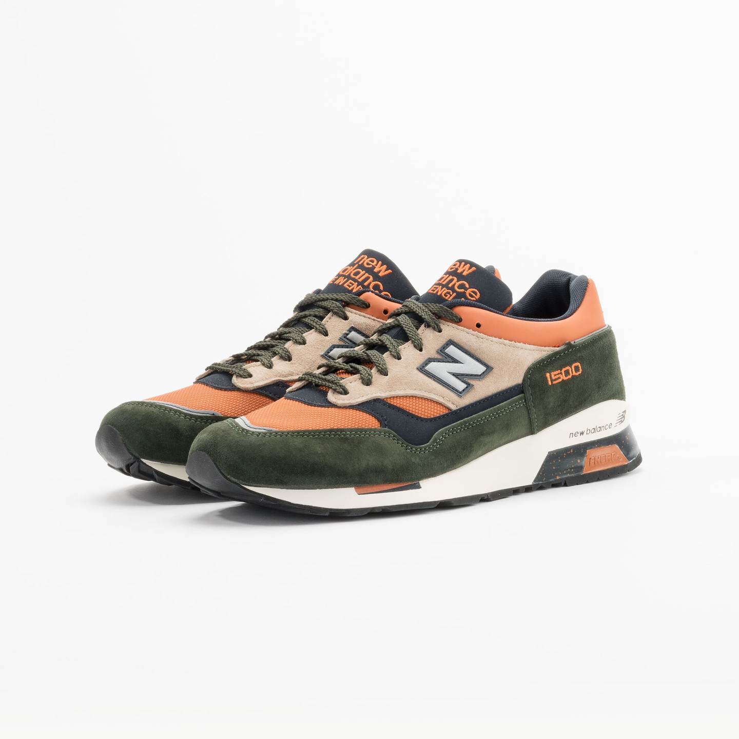 New Balance M1500 RO - Made in England Green / Orange M1500RO-42
