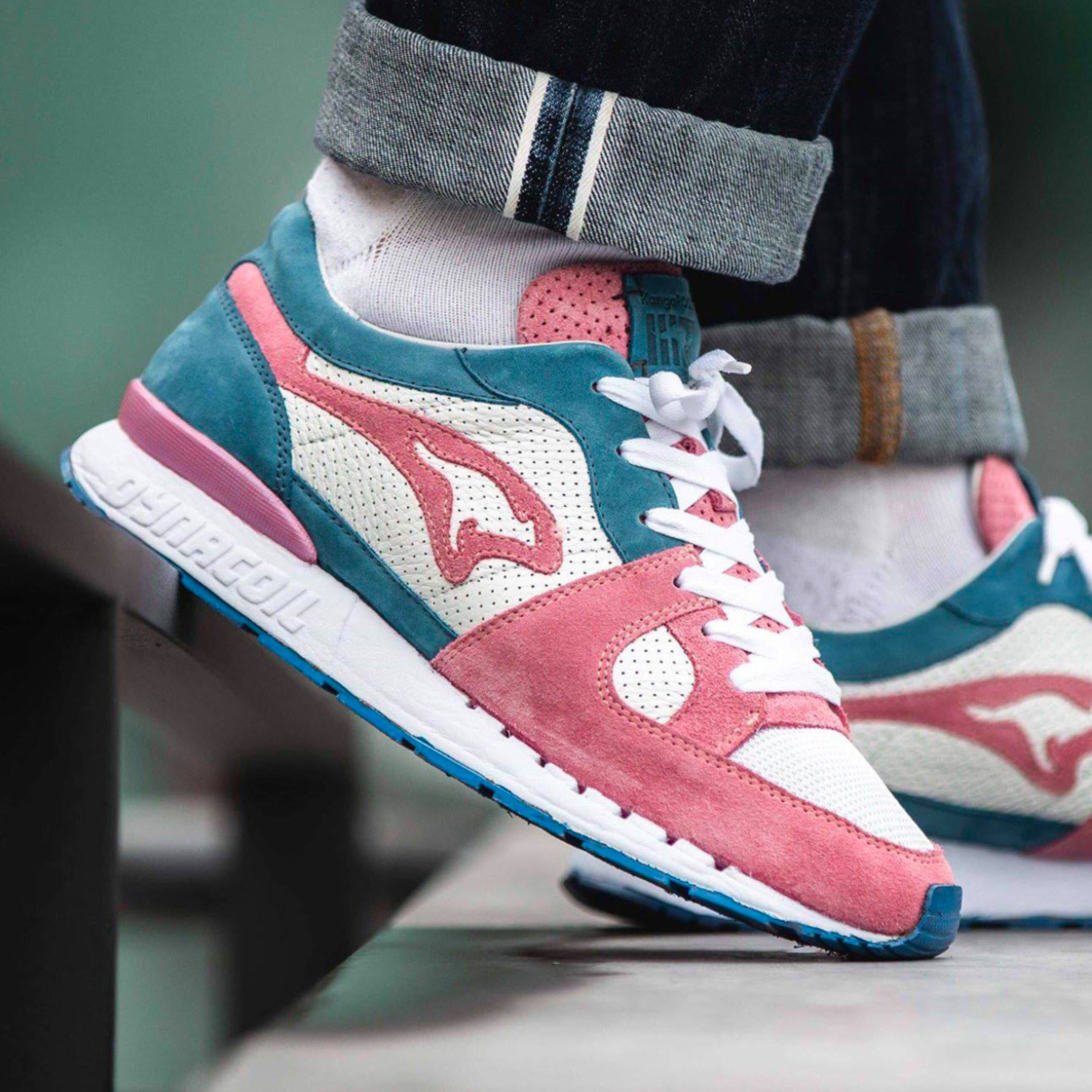 KangaROOS Sneakerholics 'Bubblegum' - Made in Germany White / Rose 4702S 000 0030