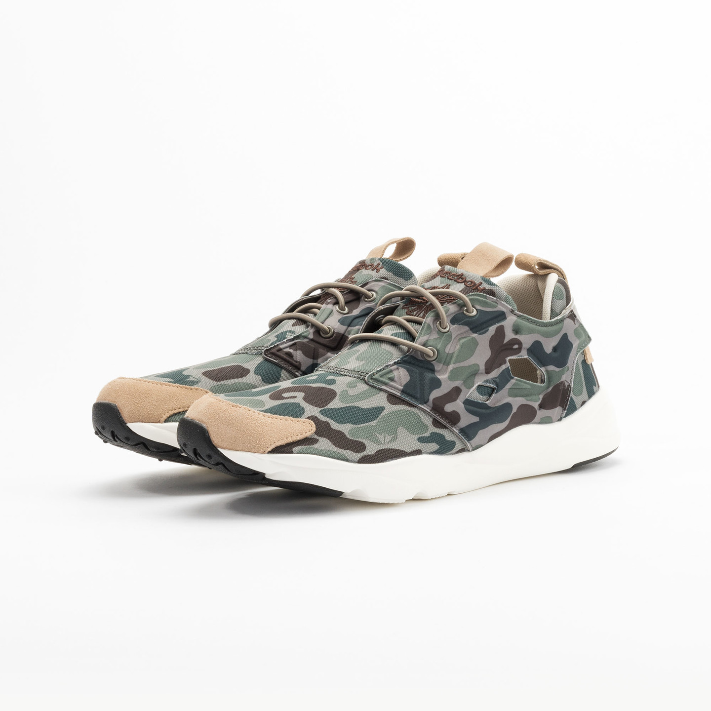 Reebok Furylite Camo Cement / Silvery Green / Sage V67089-45.5