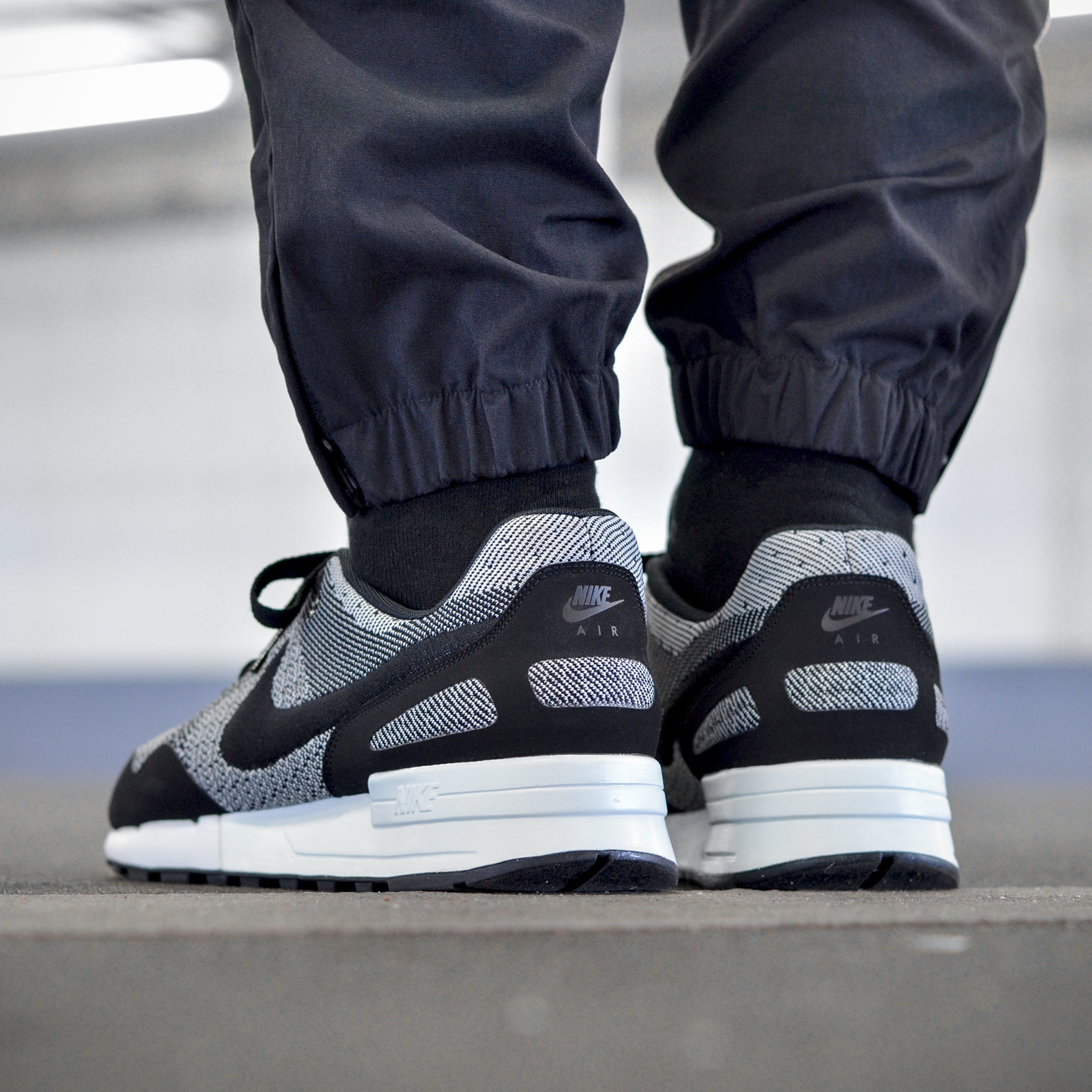 Nike Air Pegasus ´89 Jacquard Black / White 844751-001-46