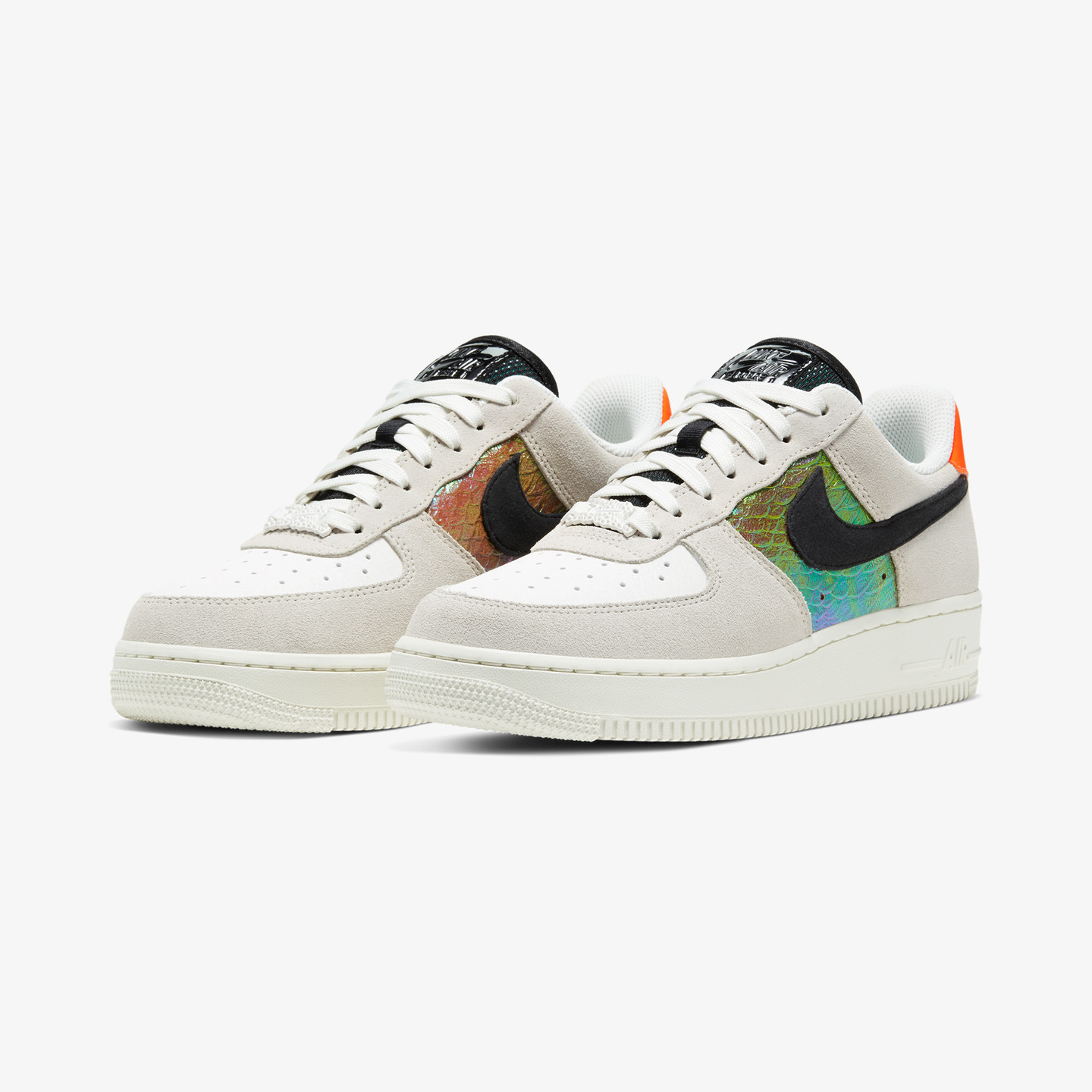 Nike Air Force 1 Low 'Reptile' Light Bone / Sail / Hyper Crimson / Black CW2657-001