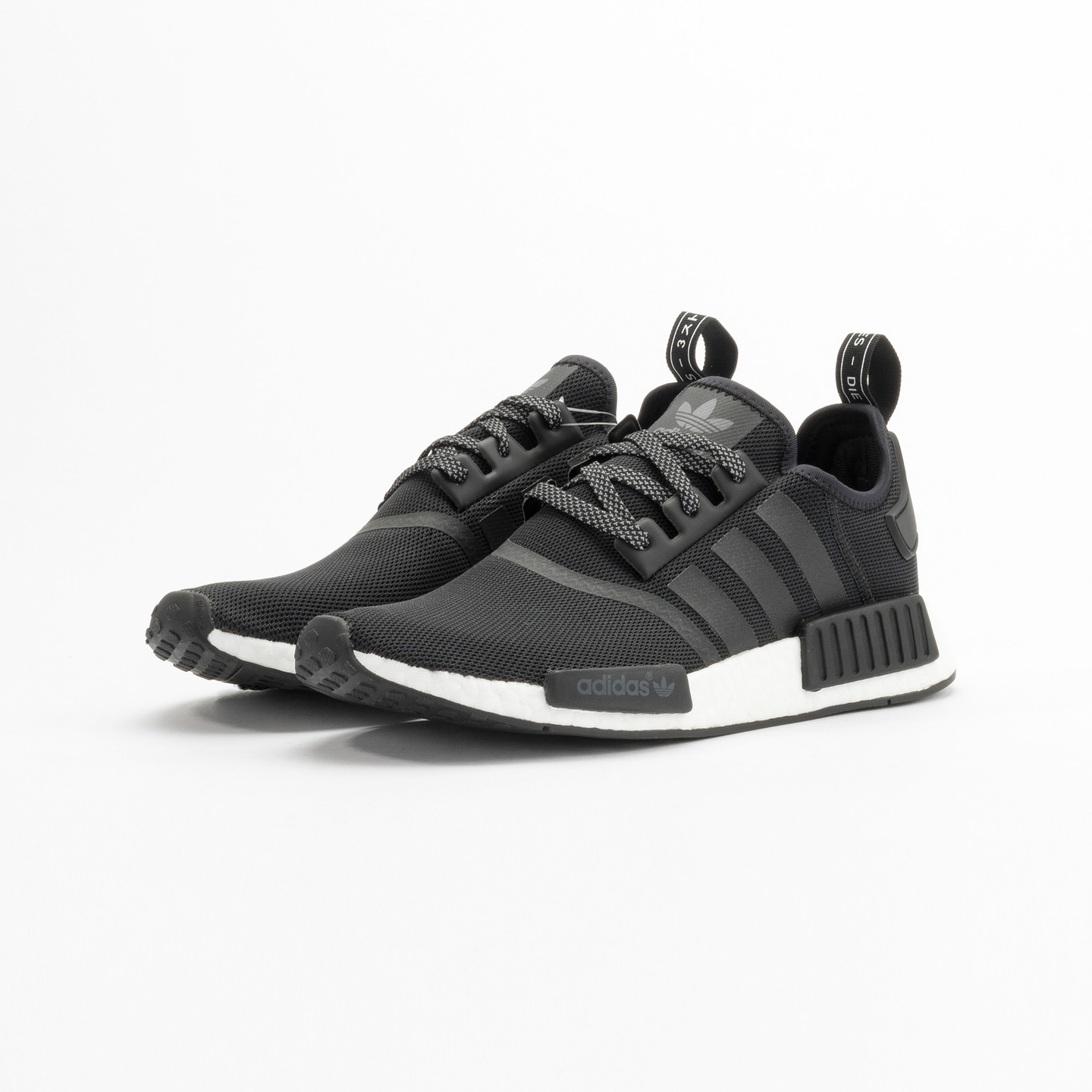 Adidas NMD R1 Runner Core Black Reflective / Ftwr White S31505-42