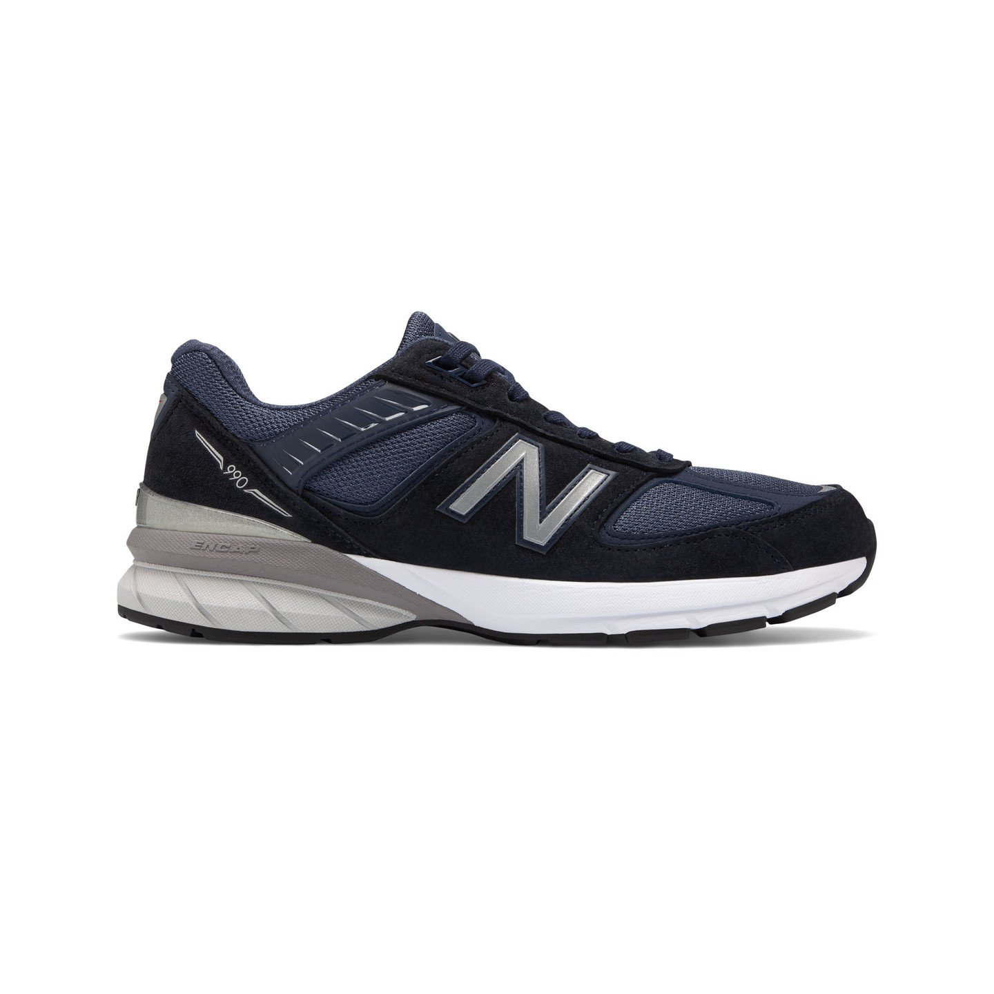 New Balance M990 V5 - Made in USA Navy / Reflective Silver M990NV5