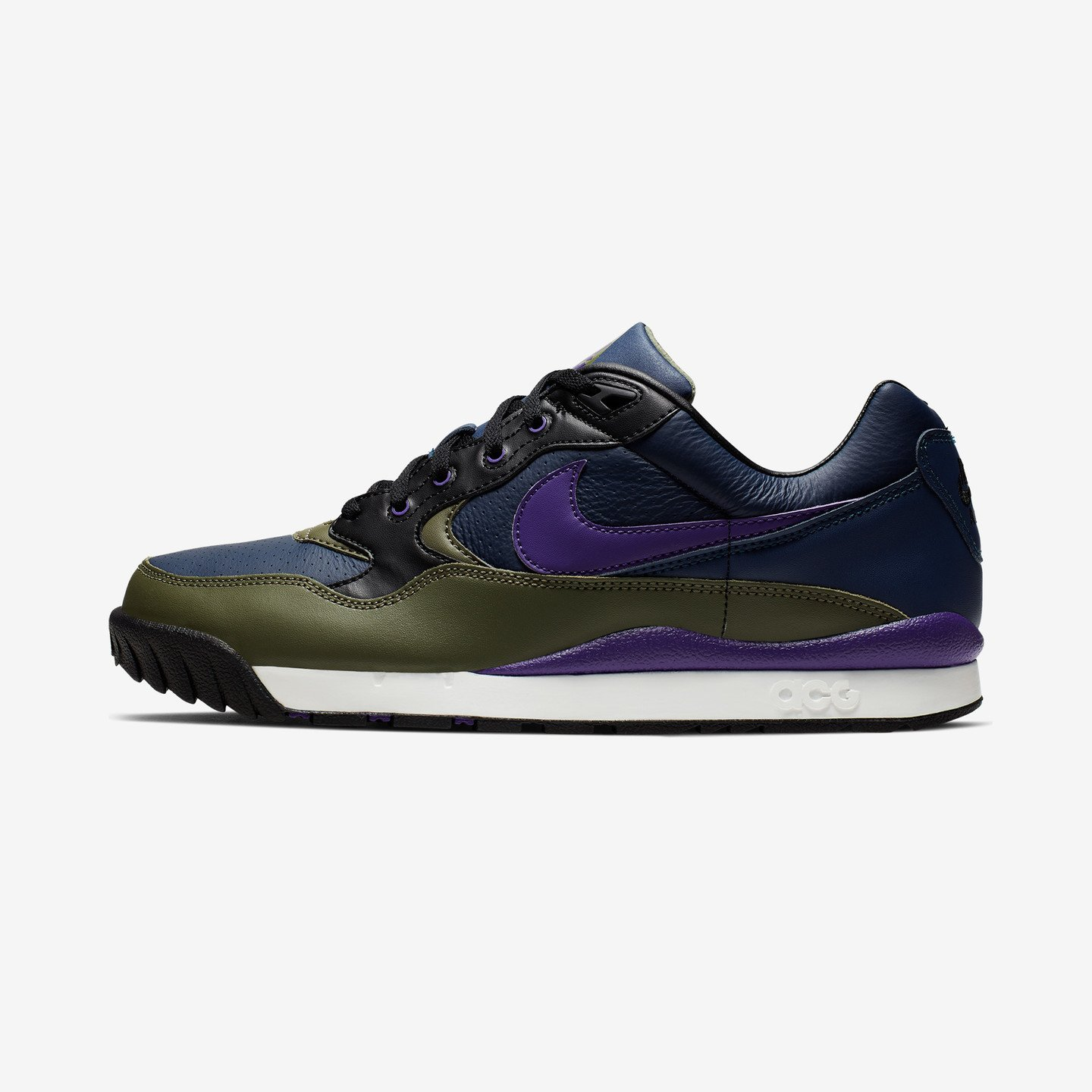 Nike ACG Air Wildwood Midnight Navy / Court Purple / Medium Olive AO3116-400