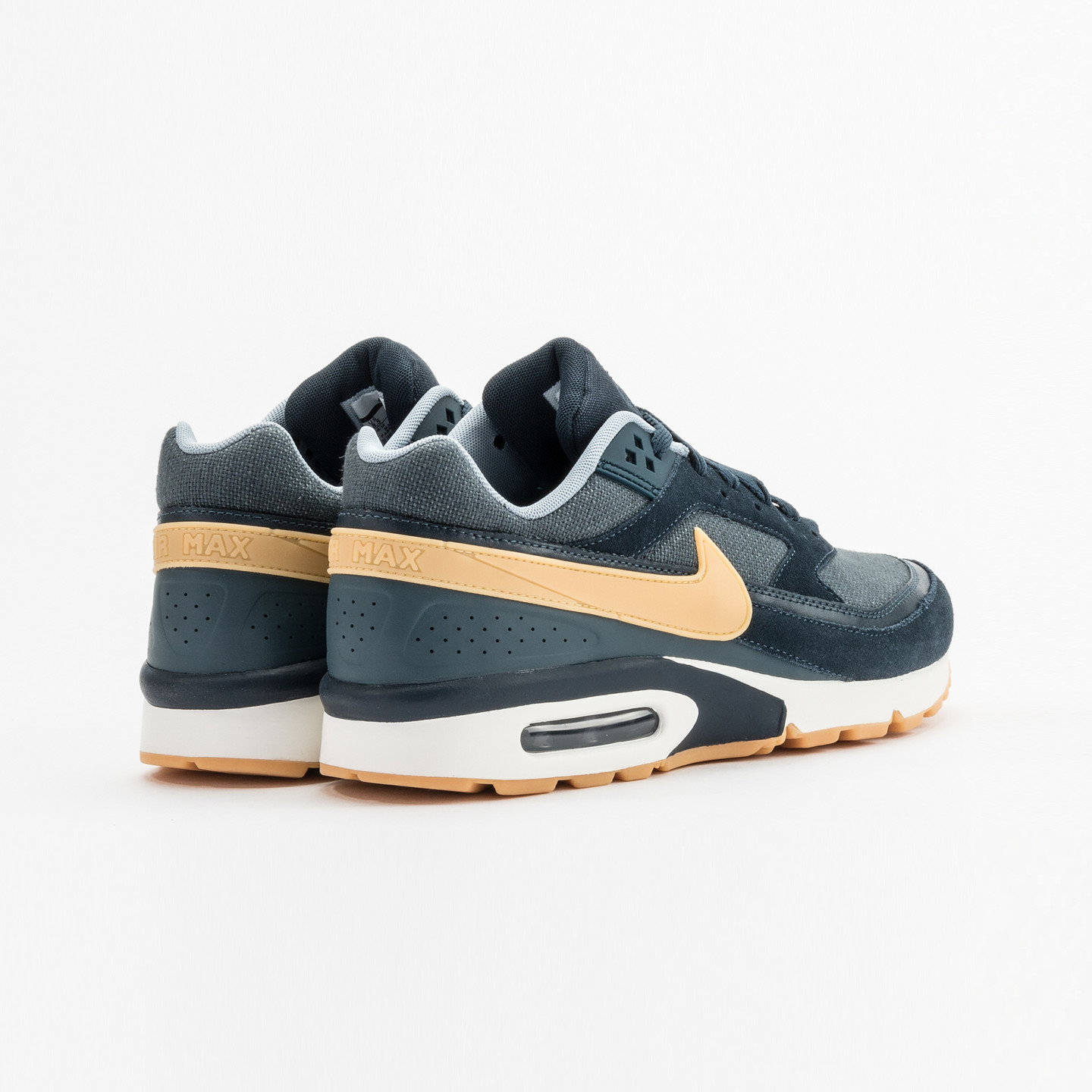 Nike Air Max BW Premium Armory Navy / Yellow / Gum 819523-401