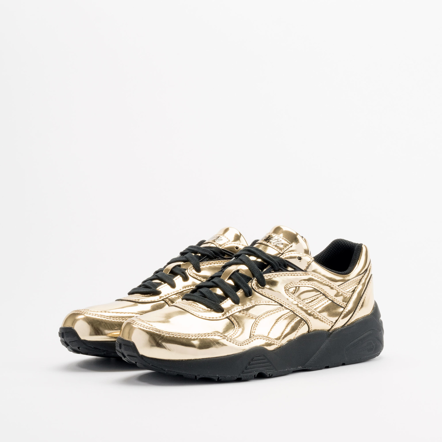 Puma R698 x Vashtie Gold Metallic Gold / Black 358838 01-37.5