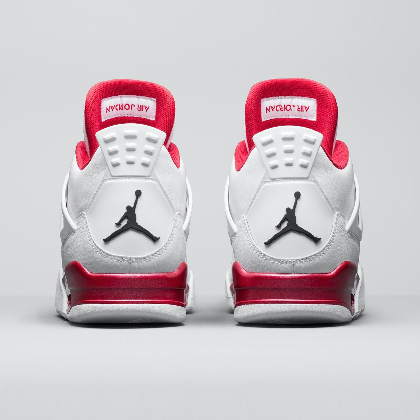 Jordan Air Jordan 4 Retro Alternate White / Gym Red / Black 308497-106-42