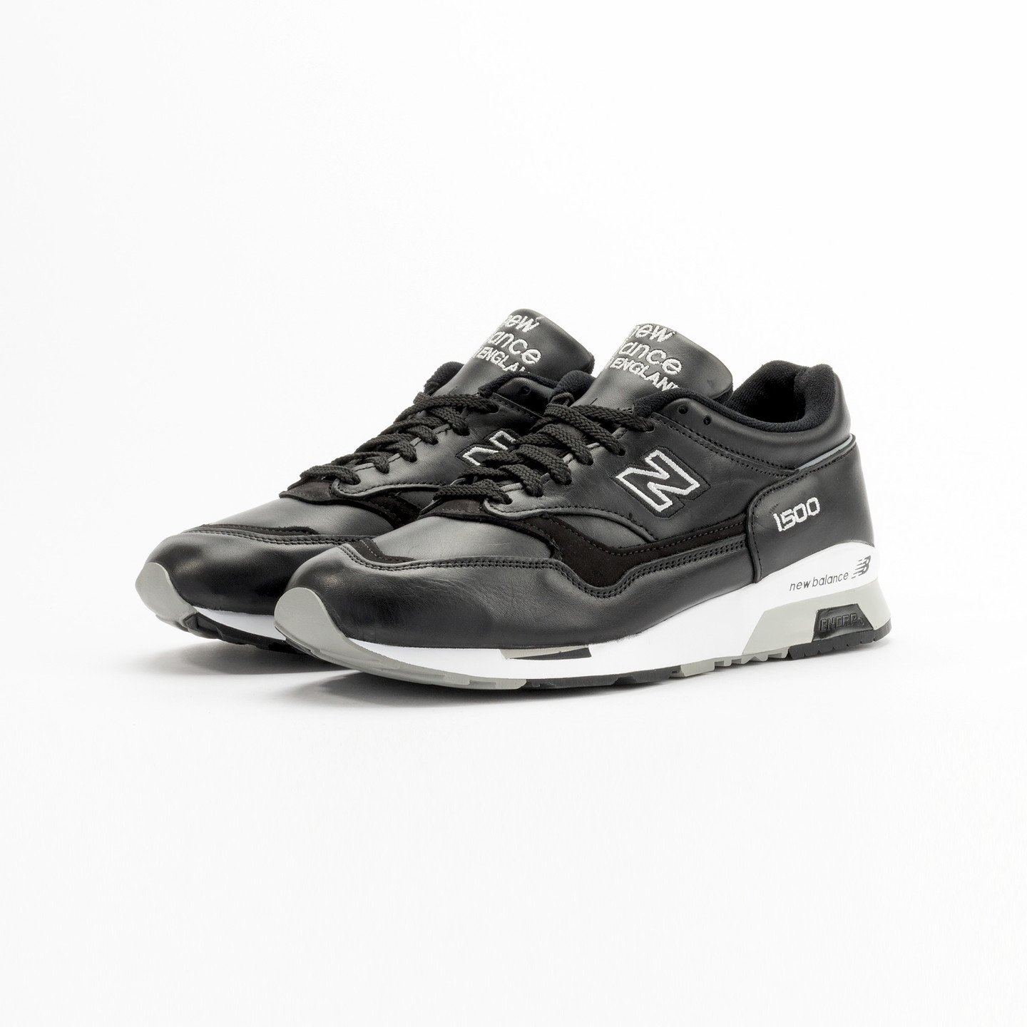 New Balance M1500 BK - Made in England Black / White Shadow M1500BK-45
