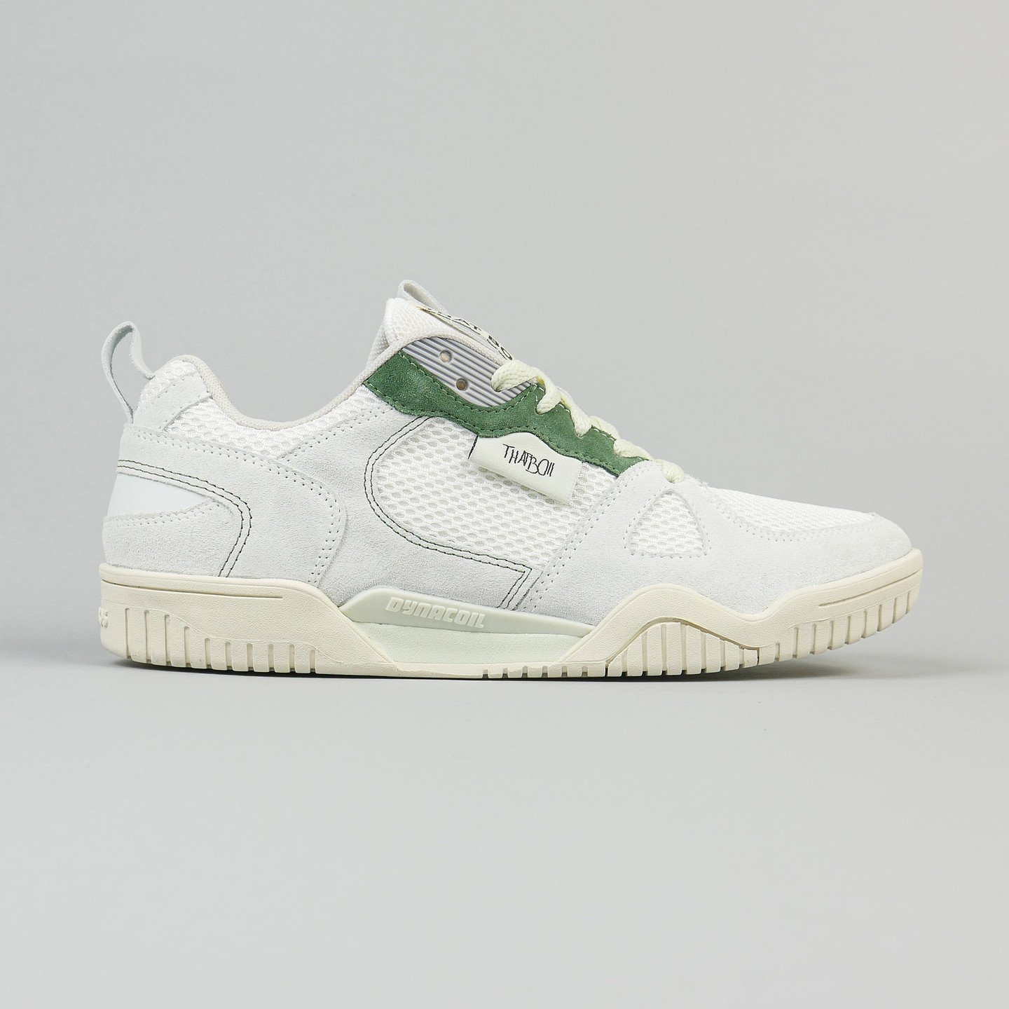 KangaROOS Ultralite x THATBOII 'Le Club' - Made in Germany Ivory White / Golf Green 4708T-0007