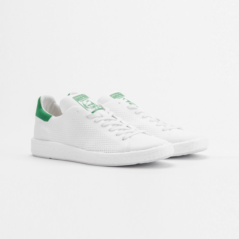 e92c1886fee Adidas Stan Smith Boost PK Ftwr White   Green BB0013-42