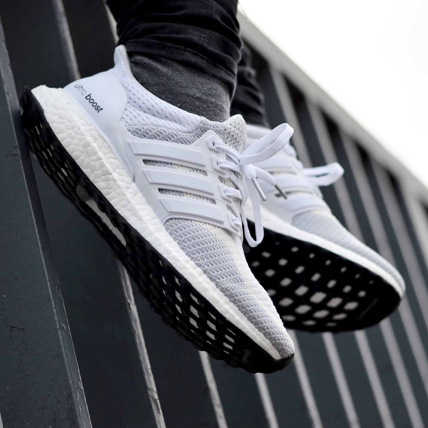 Adidas Ultra Boost W Running White / Clear Grey AF5142-43.33