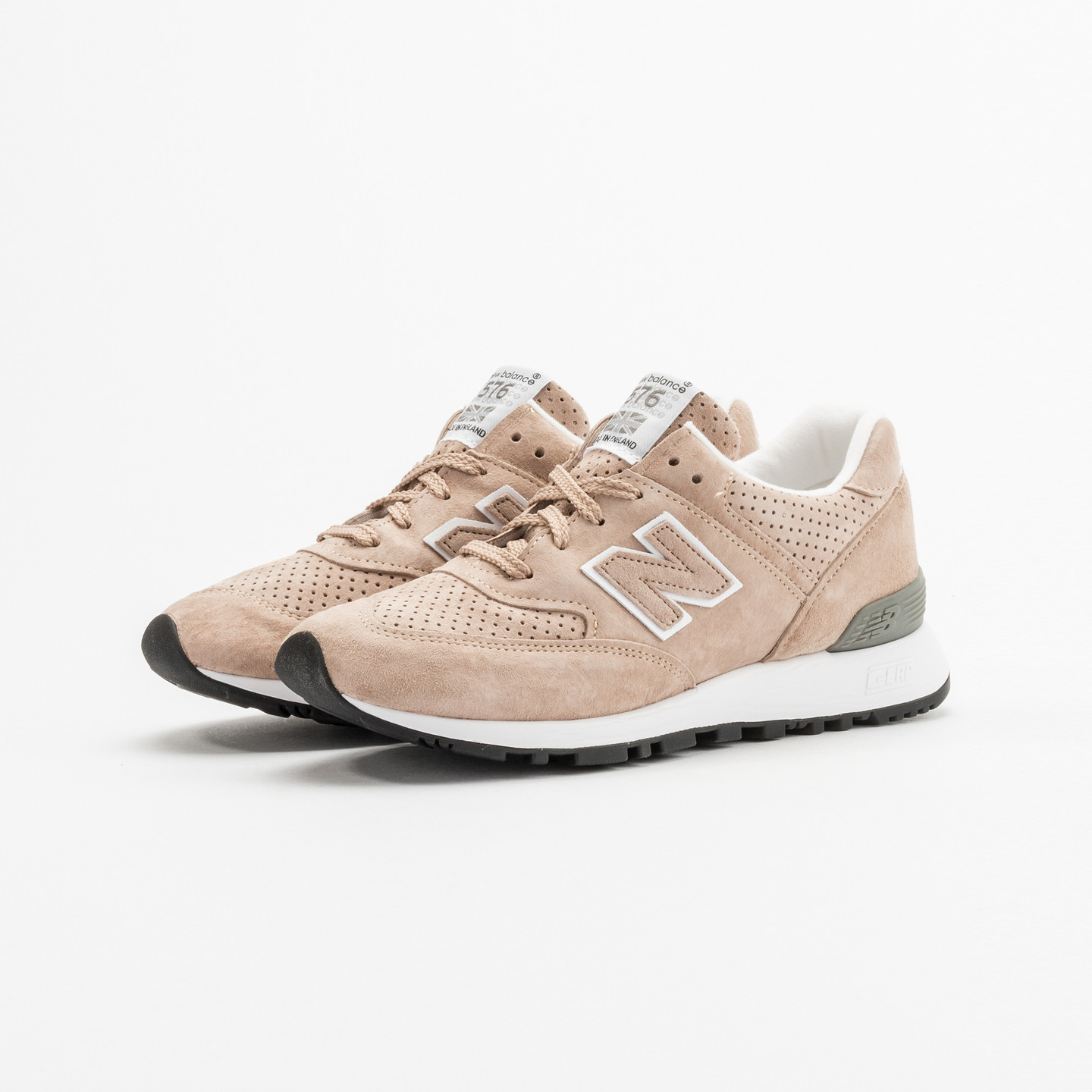 New Balance W576 TTO - Made in UK Light Brown / White W576TTO-36.5