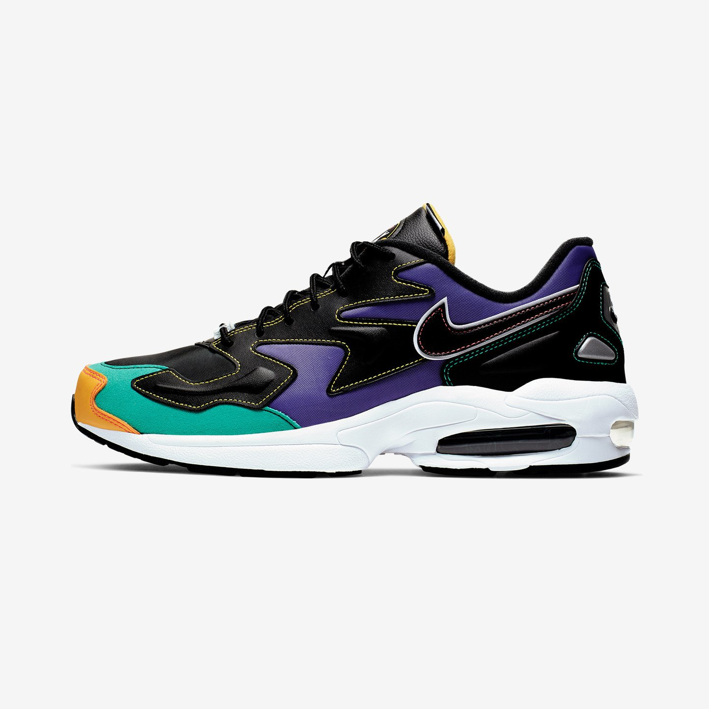 Nike Air Max 2 Light Premium Black / Flash Crimson / Kinetic Green BV0987-023