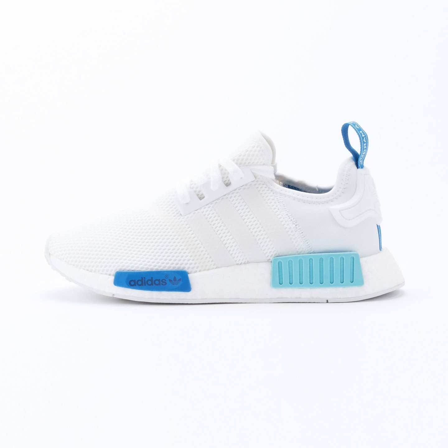 Adidas NMD R1 Runner W Ftwr White /  Blue Glow S75235-42