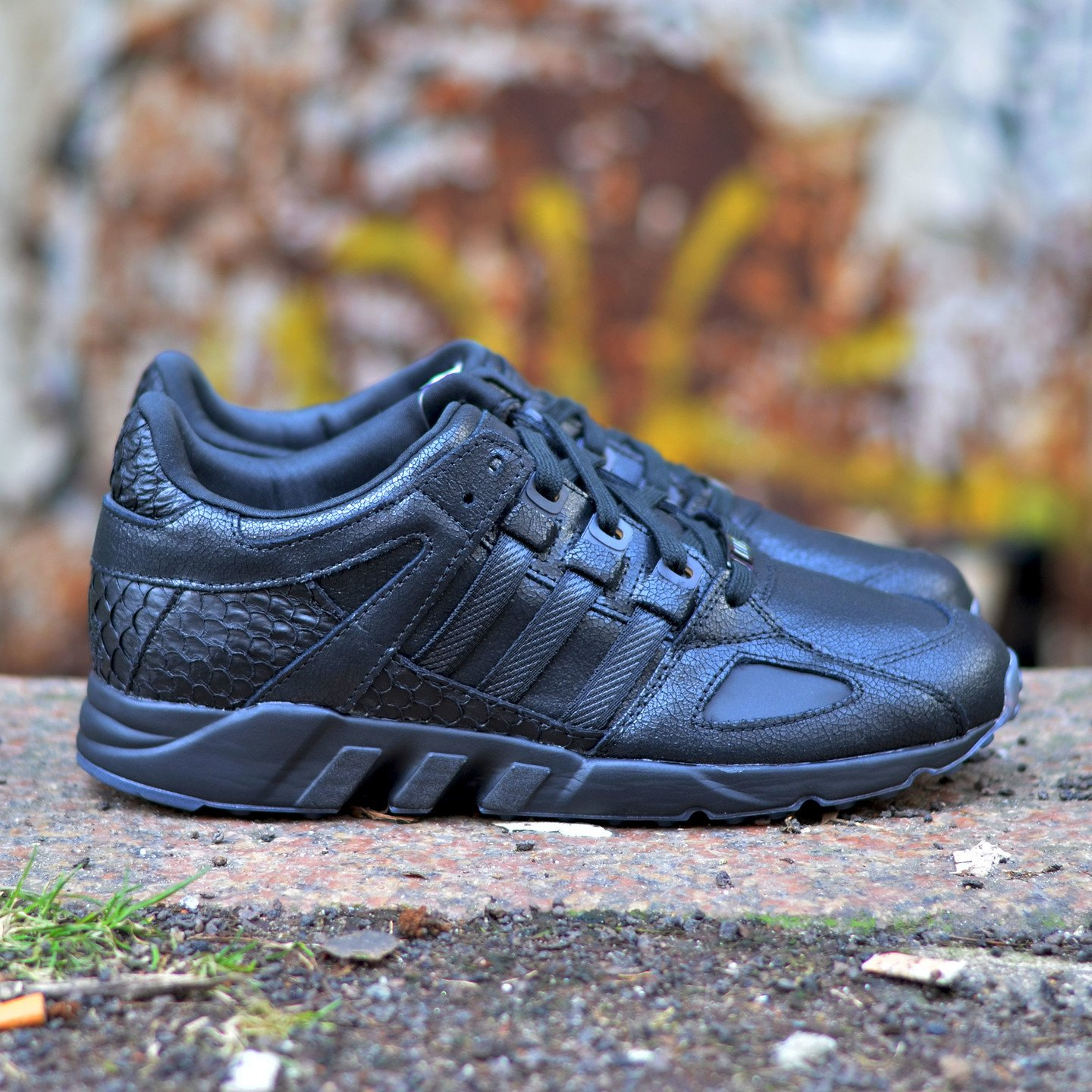 Adidas Pusha T x EQT Running Guidance ´93 – Core Black Core Black AQ7433-46