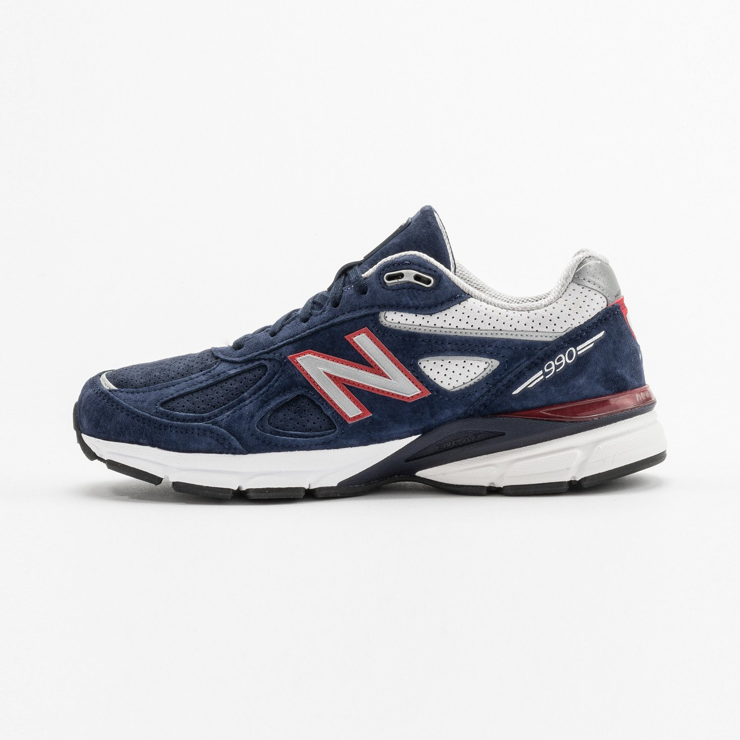 New Balance M990 V4 - Made in USA Blue / Red / Grey M990BR4