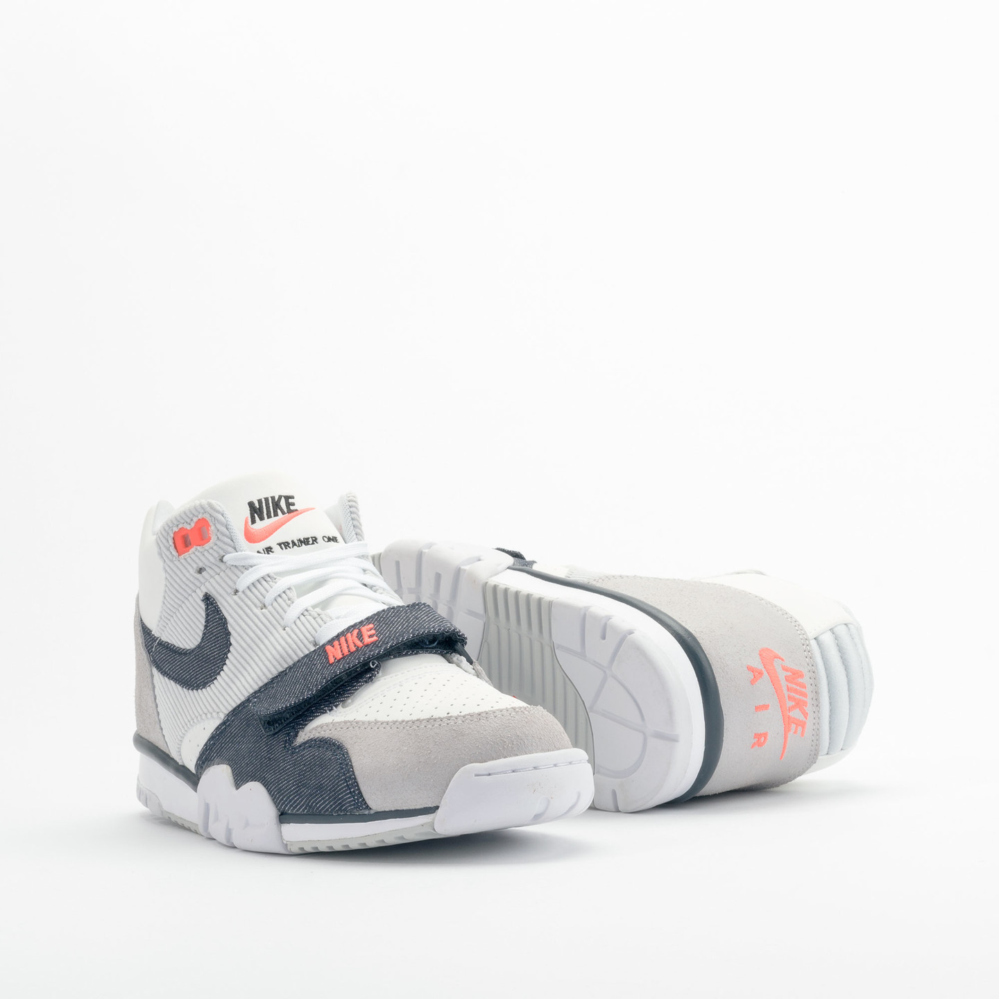 Nike Air Trainer 1 Mid White / Obsidian / Pure Platinum 317554-103-42