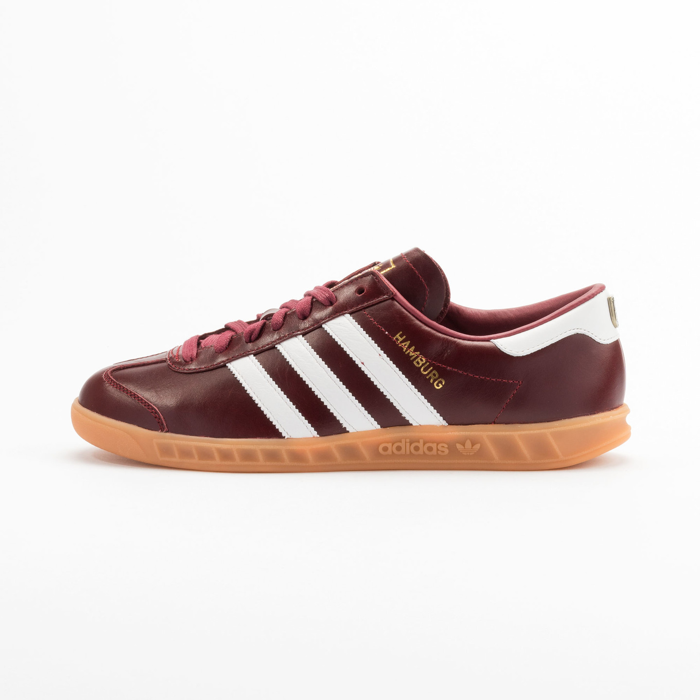 Adidas Hamburg - Made in Germany Burgundy / White / Gold / Gum S31603-44