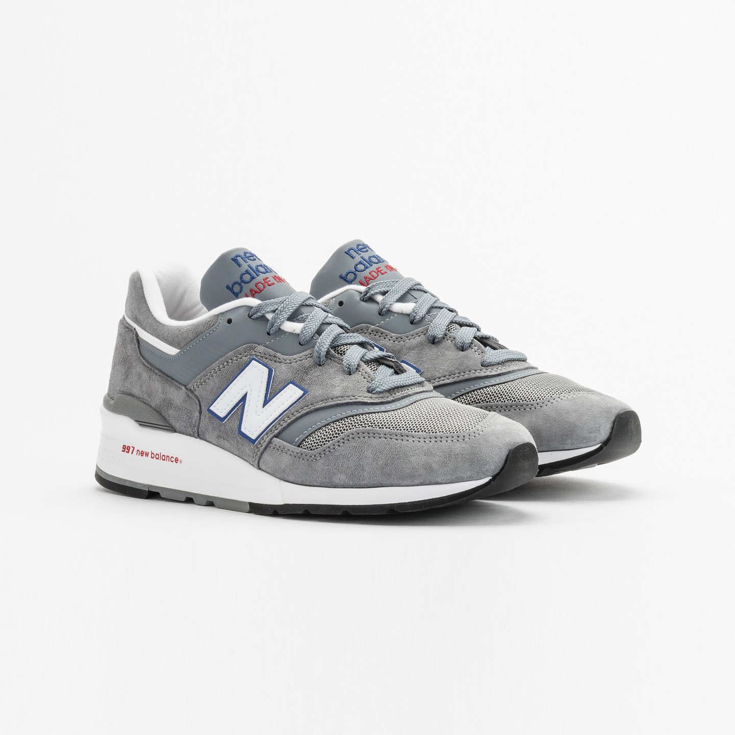 New Balance M997 Made in USA Grey / Blue / Red M997CNR-42.5