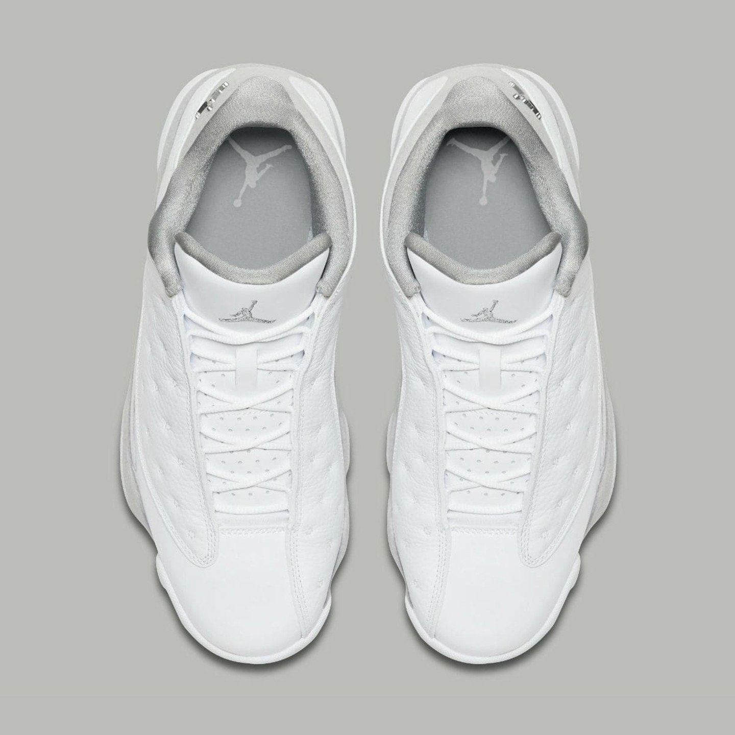 Jordan Air Jordan 13 Retro Low 'Pure Money' White / Metallic Silver 310810-100-44