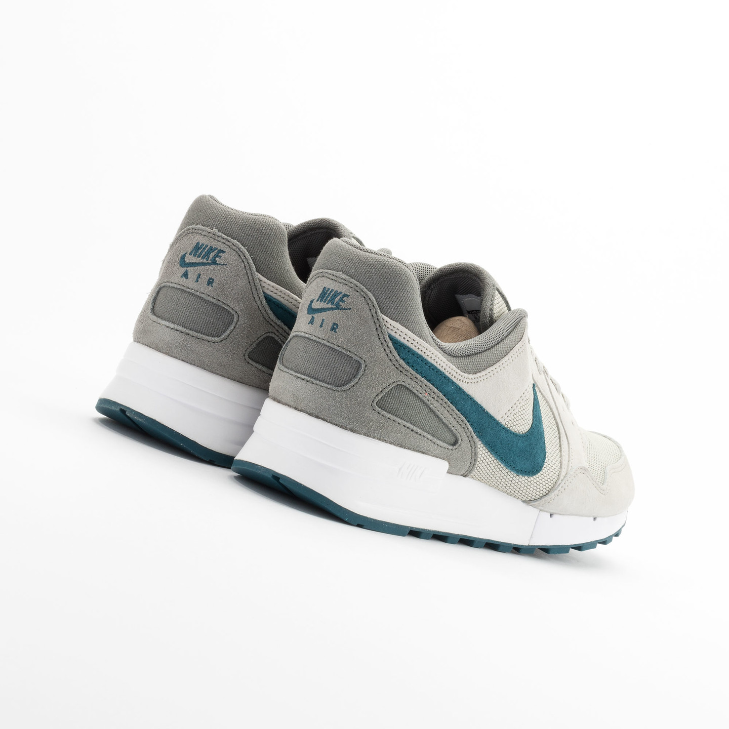 Nike Air Pegasus 89 Premium Lunar Grey / Teal - Tumbled Grey 724269-030-44