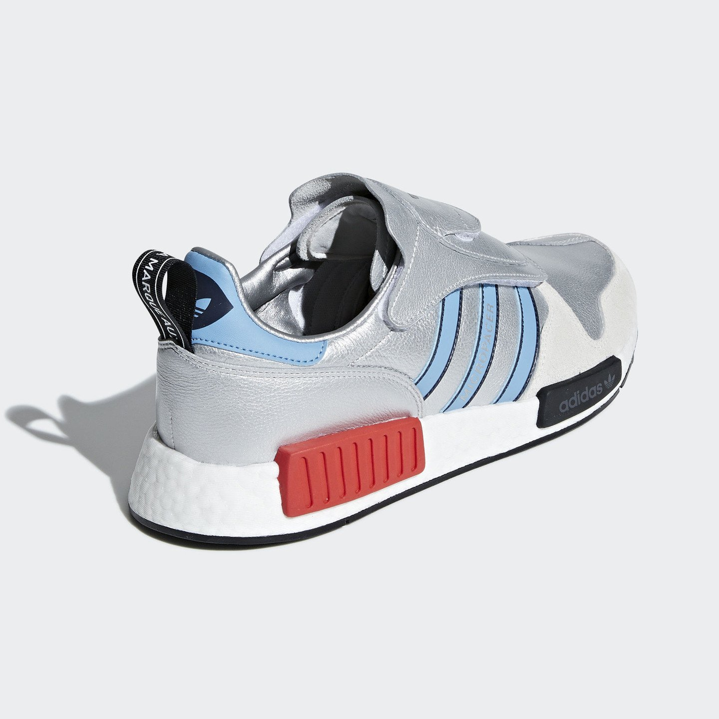 Adidas Micropacer x R1 'Never Made' Silver Metallic / Light Blue / Ftwr White G26778