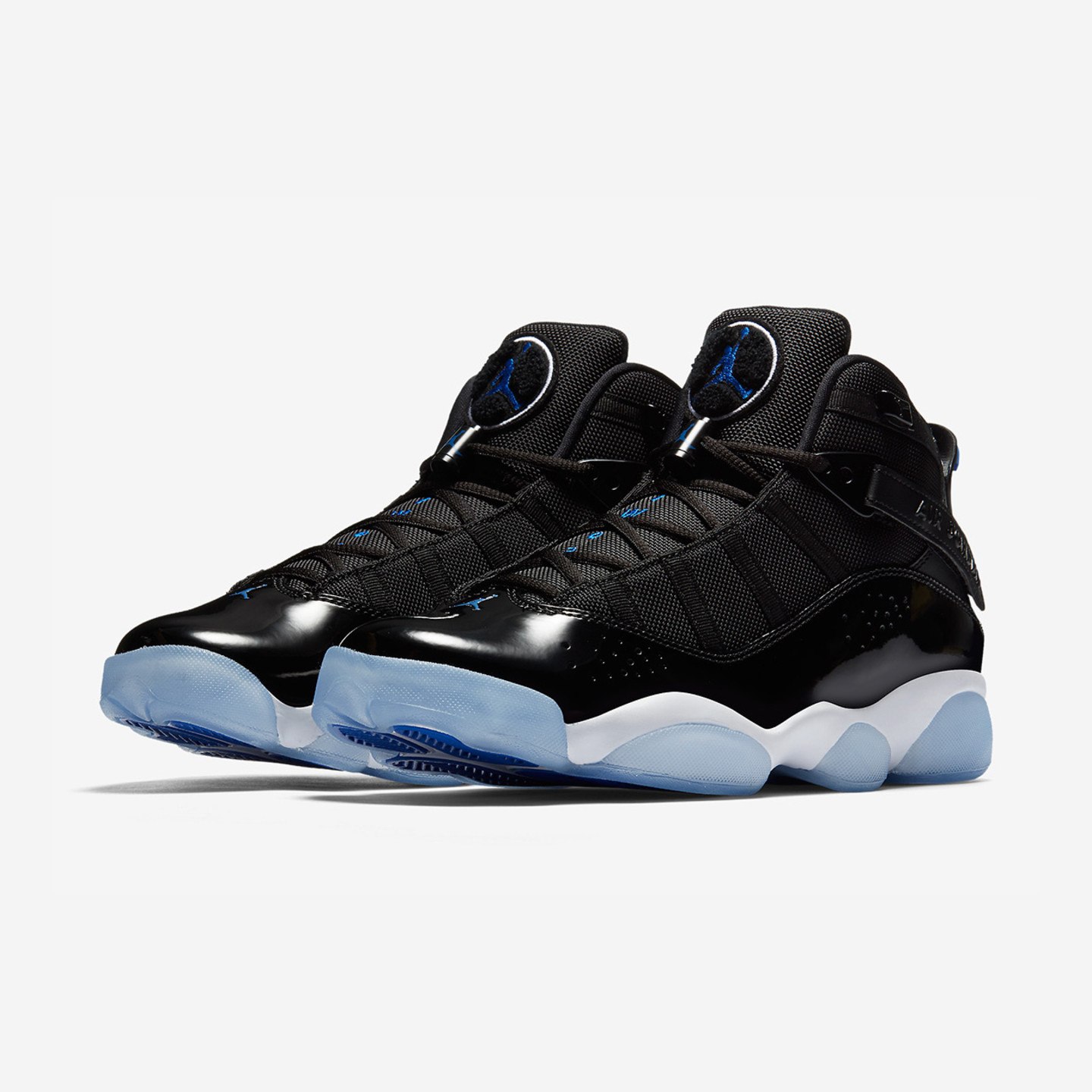 Jordan Air Jordan 6 Rings 'Space Jam' Black / Hyper Royal / White  322992-016