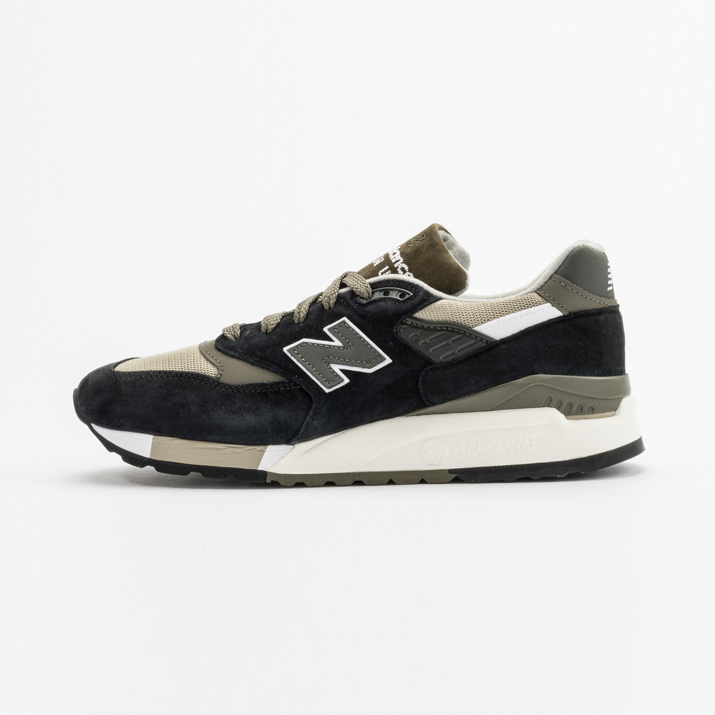 New Balance M998 Made in USA Olive / Black M998CTR