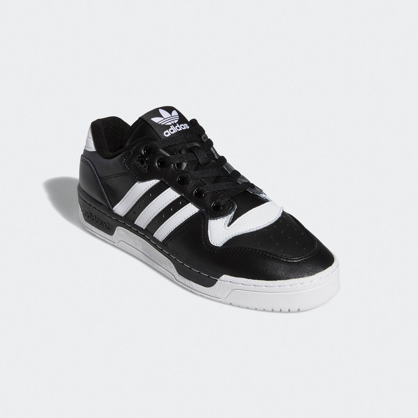 Adidas Rivalry Low OG Core Black / Cloud White EG8063