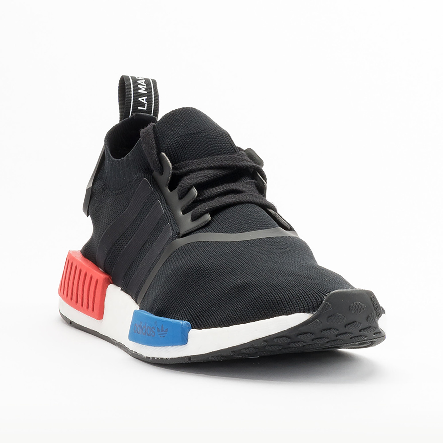 Adidas NMD Runner PK Primeknit Black / Red / Blue / White S79168-37.33