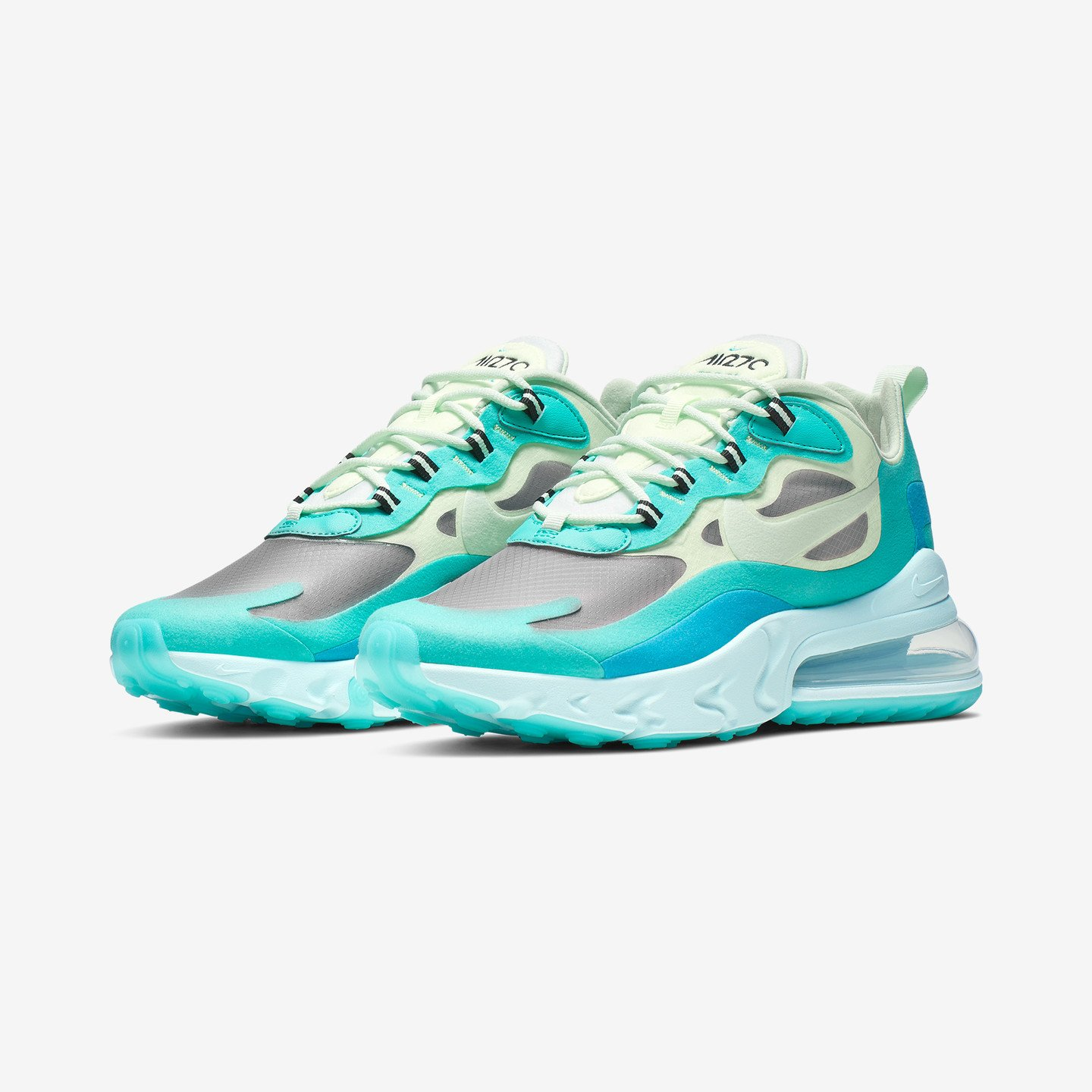 Nike Air Max 270 React Hyper Jade / Frosted Spruce / Barely Volt AO4971-301