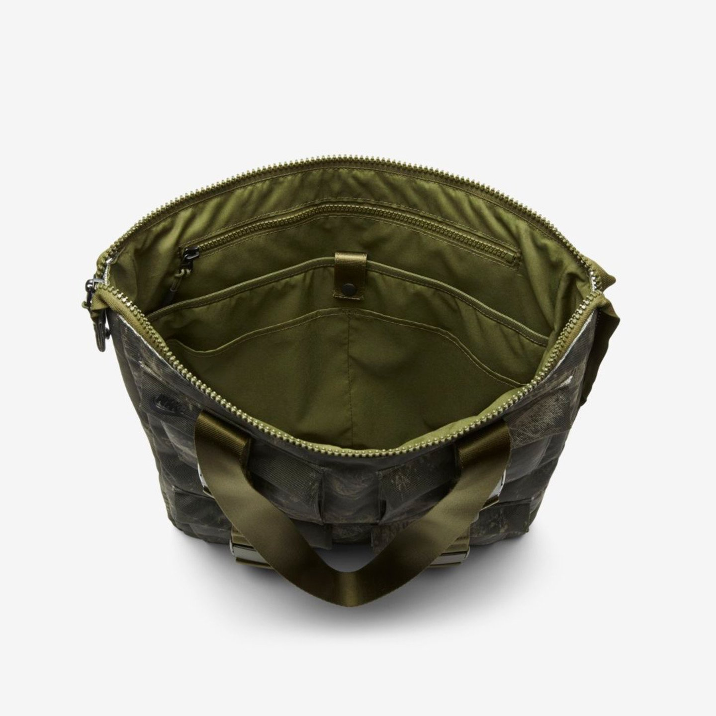 Nike Tote Bag 'Realtree Camo' Olive Canvas / Olive BA6378-395