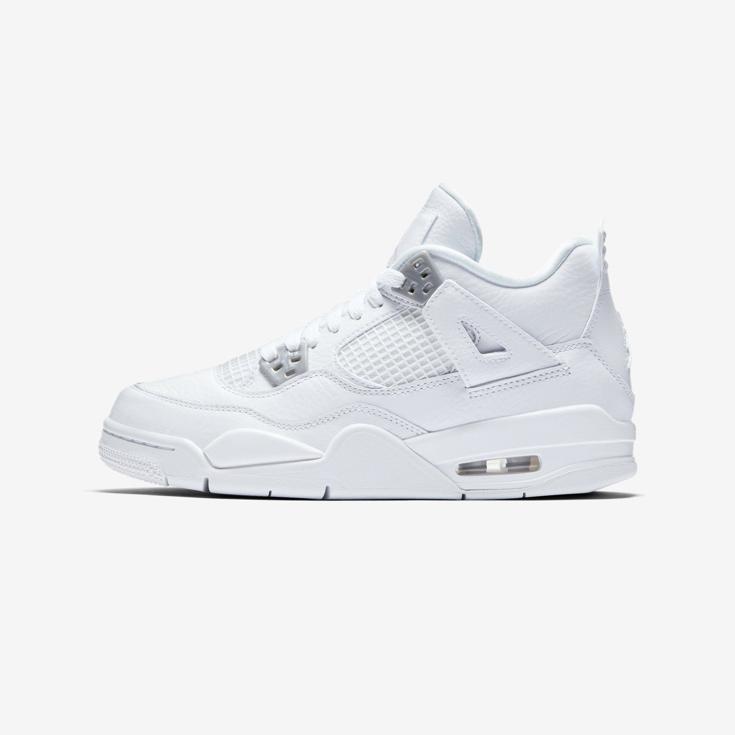 Jordan Air Jordan 4 Retro GS 'Pure Money' White / Silver / Pure Platinum 408452-100-38.5