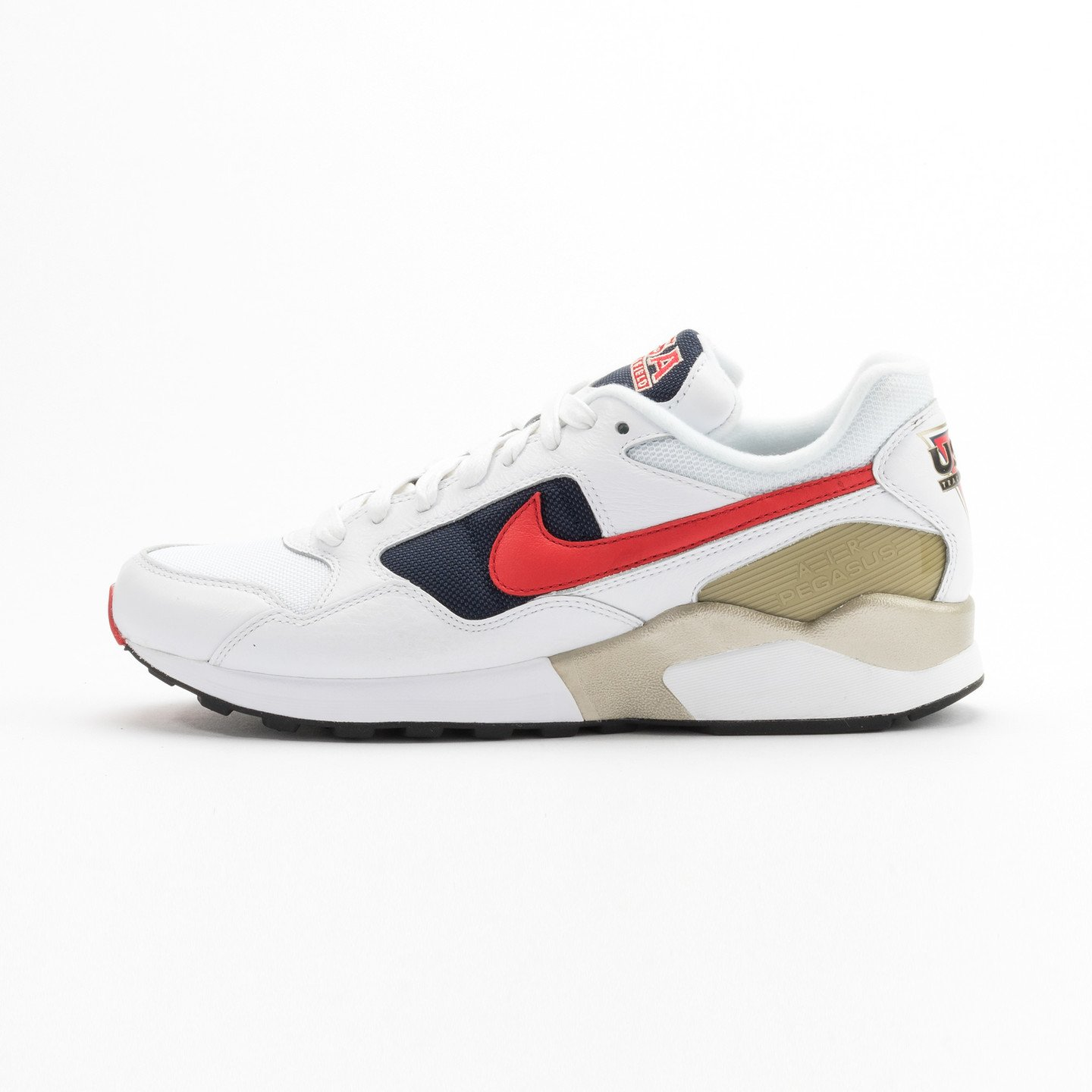 Nike Air Pegasus ´92 Premium White / University Red / Midnight Navy 844964-100-45.5
