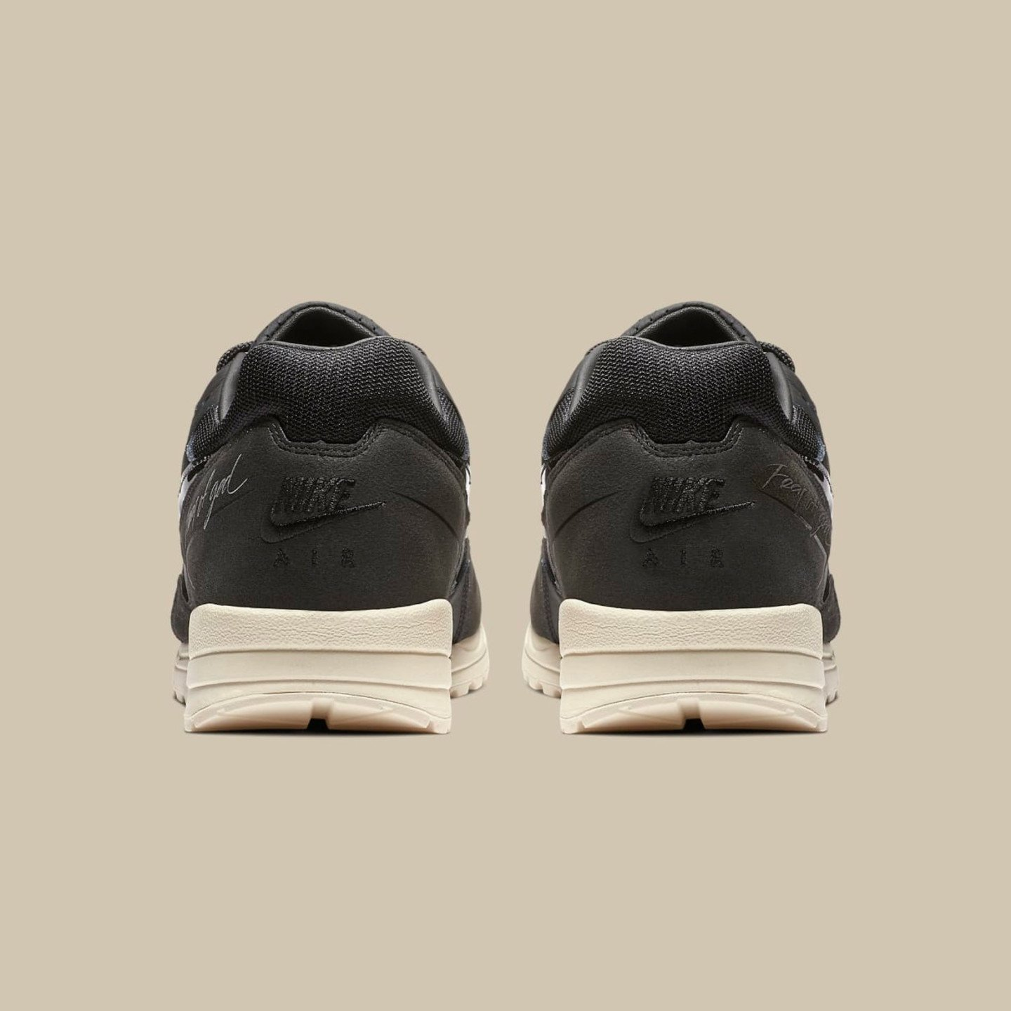Nike Air Skylon II x Fear Of God Black / Sail / Fossil BQ2752-001