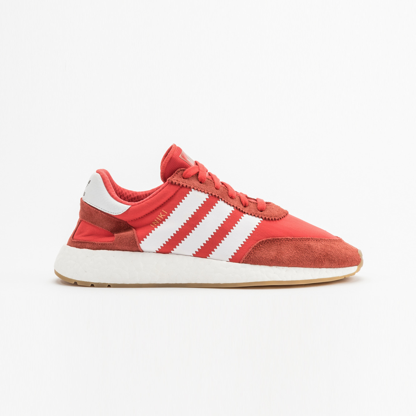 Adidas Iniki Runner Red / Running White / Gum BY9728