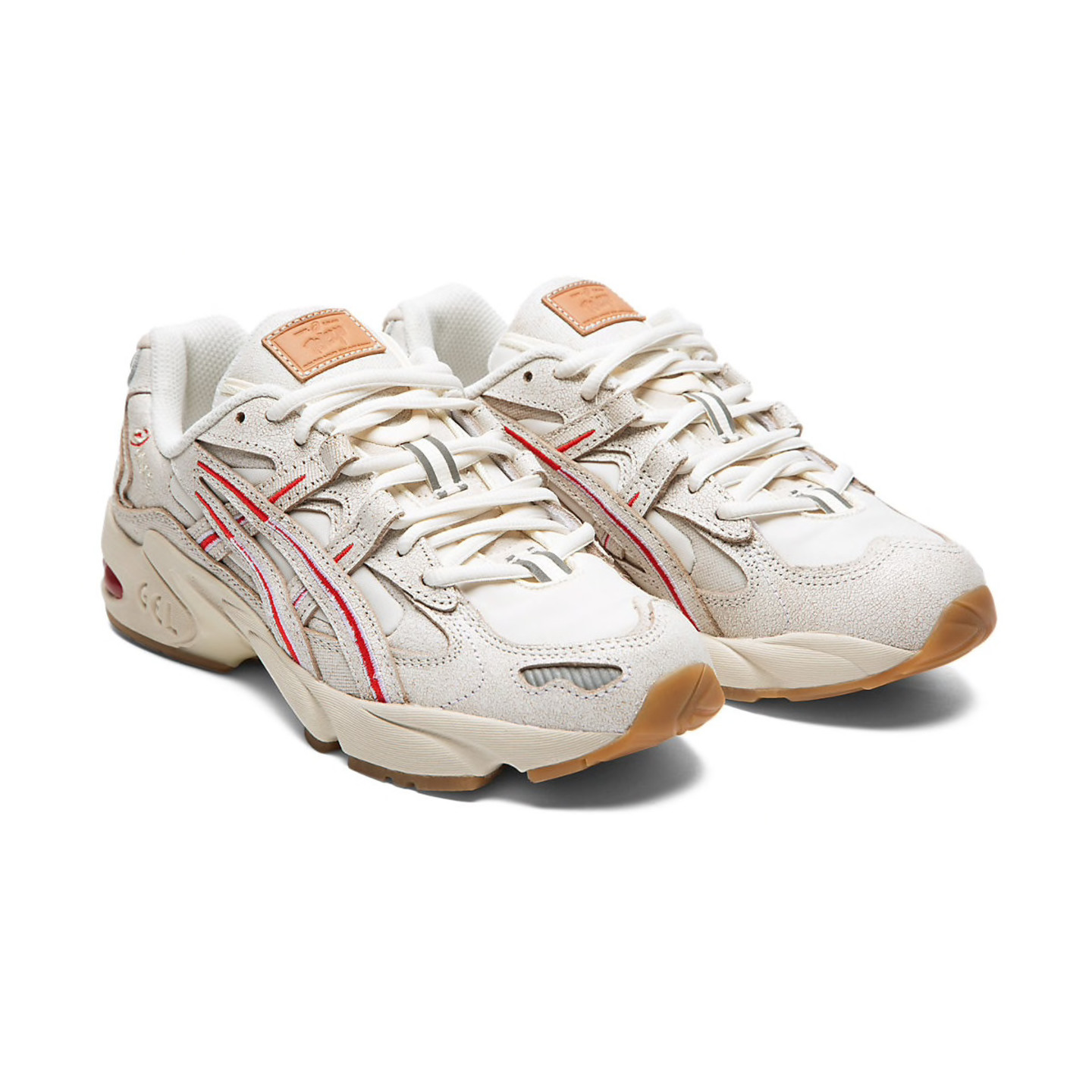 Asics Gel-Kayano 5 OG Retro W 'Tokyo' Off White / Olympic Red 1022A292-100