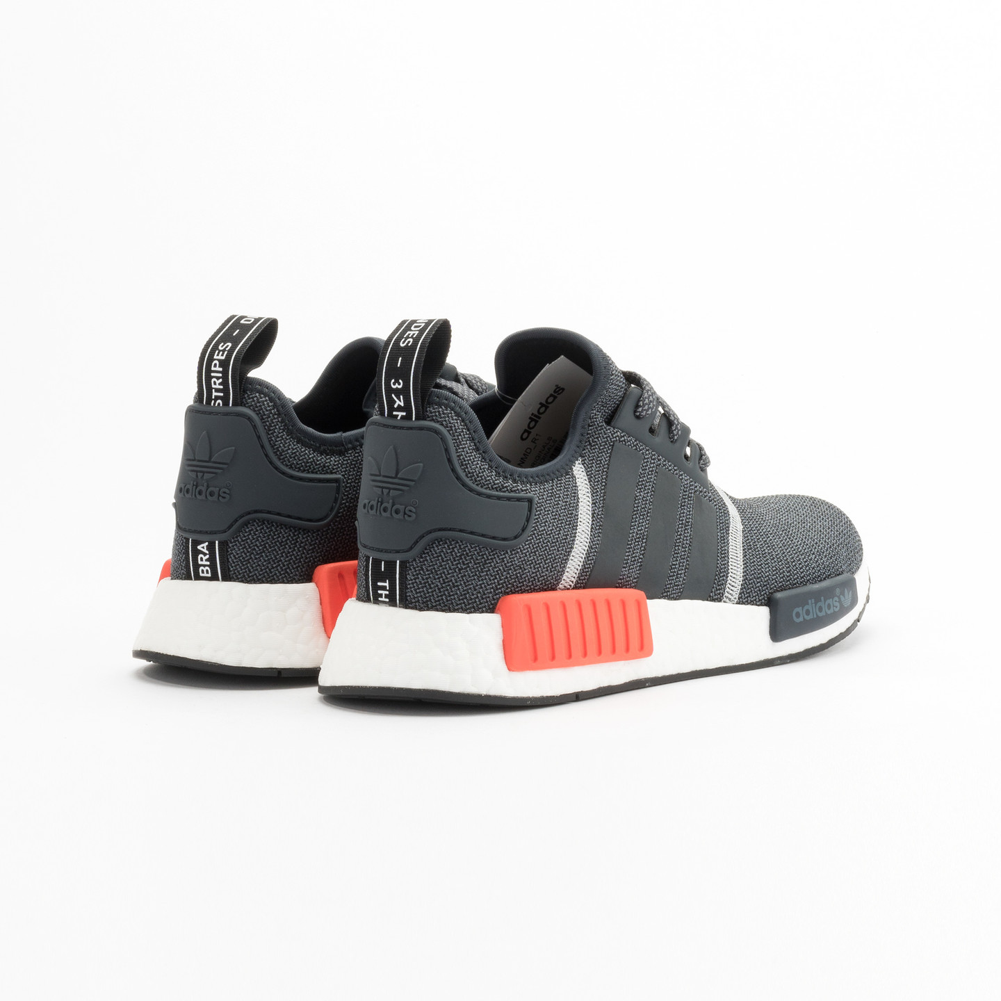 Adidas NMD R1 Runner Dark Grey / Semi Solar Red S31510-46