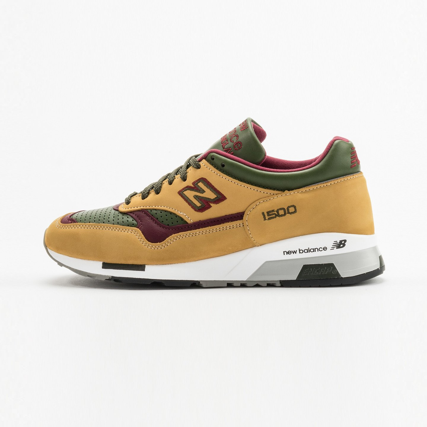 New Balance M1500 TGB - Made in England Mustard / Loden Green M1500TGB