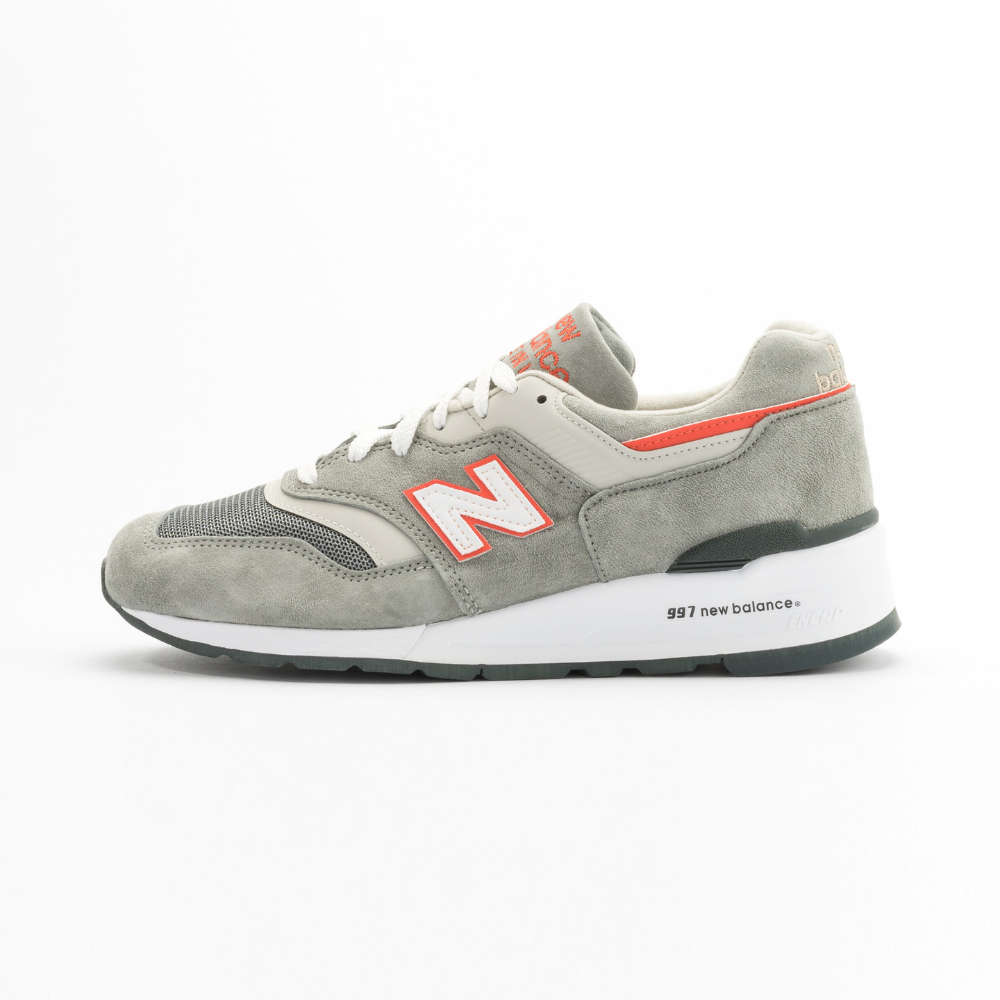 New Balance M997 Made in USA Grey / Orange M997CHT-44.5