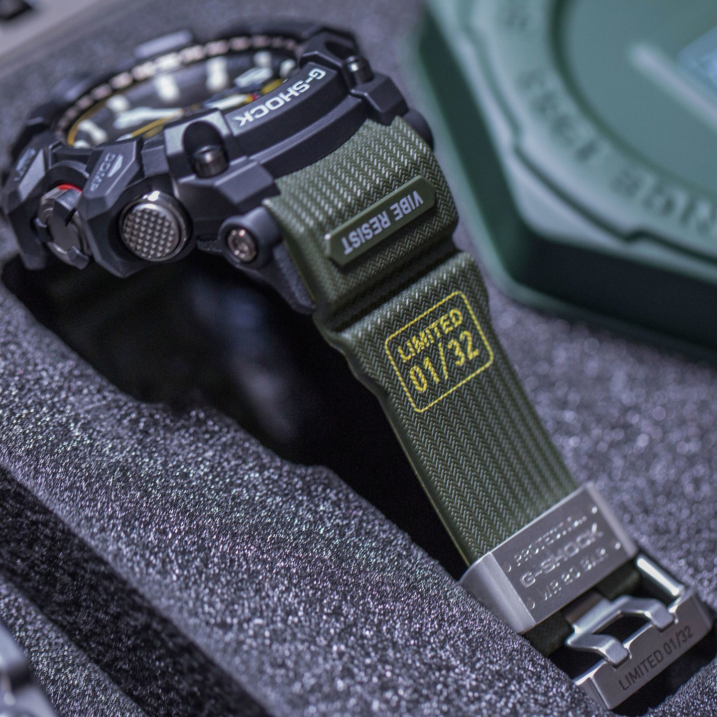Casio G-Shock Mudmaster Special Limited Edition Military Green GWG-1000-Special-one-size
