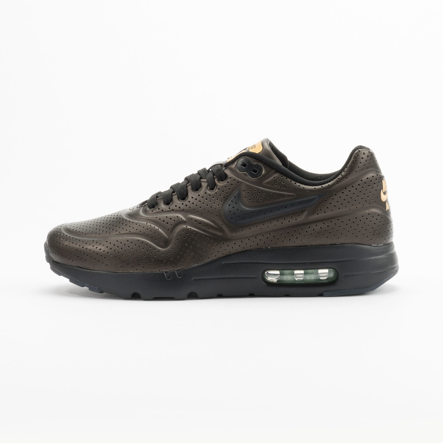 Nike Air Max 1 Ultra Moire Metallic Gold / Black 705297-700-42.5