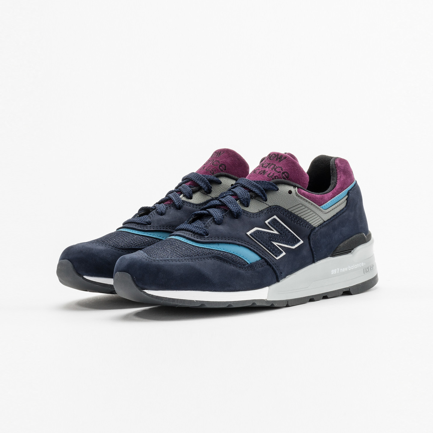 New Balance M997 - Made in USA Navy / Purple / Grey M997PTB