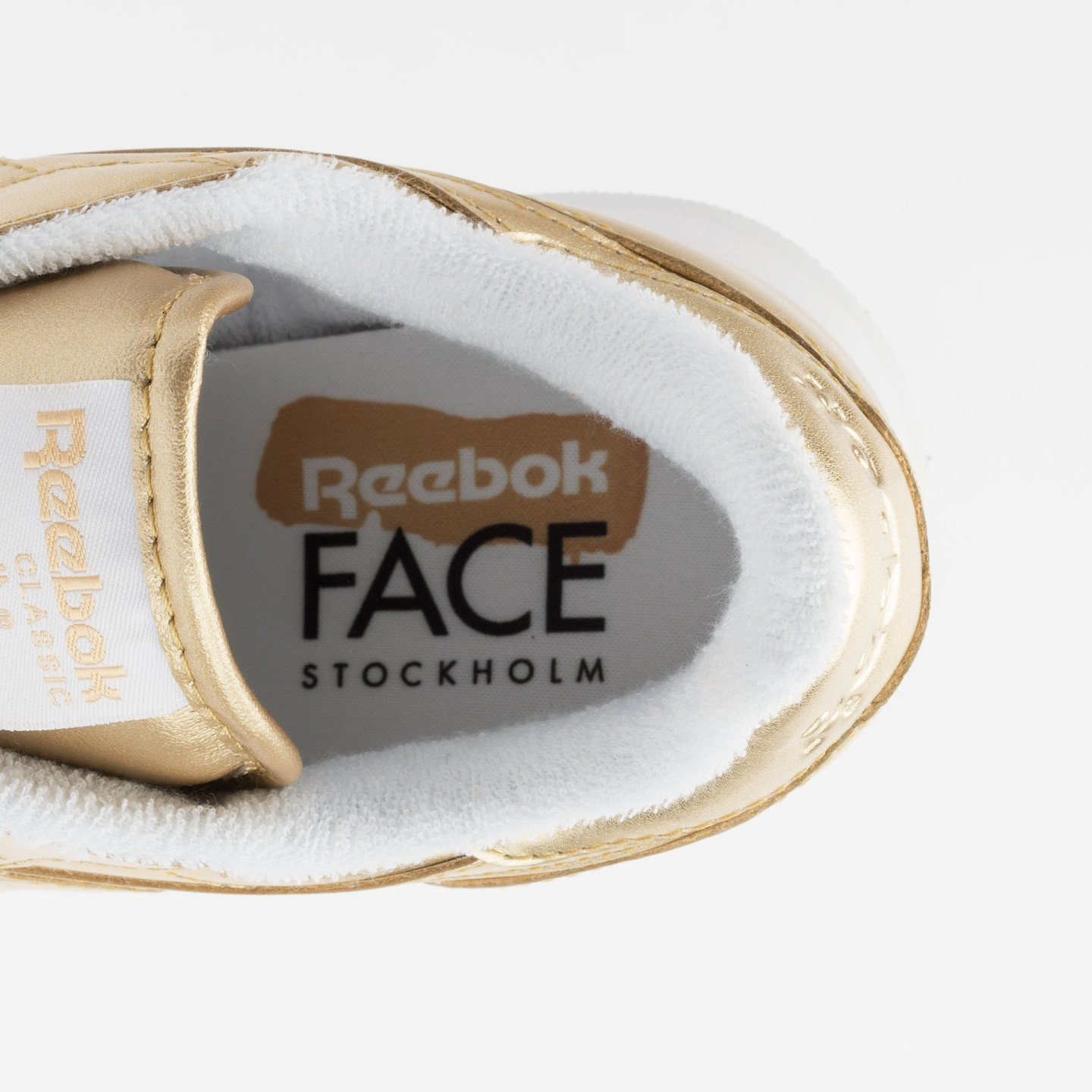 Reebok Classic Leather Spirit Sensation Gold / White V70668-40.5