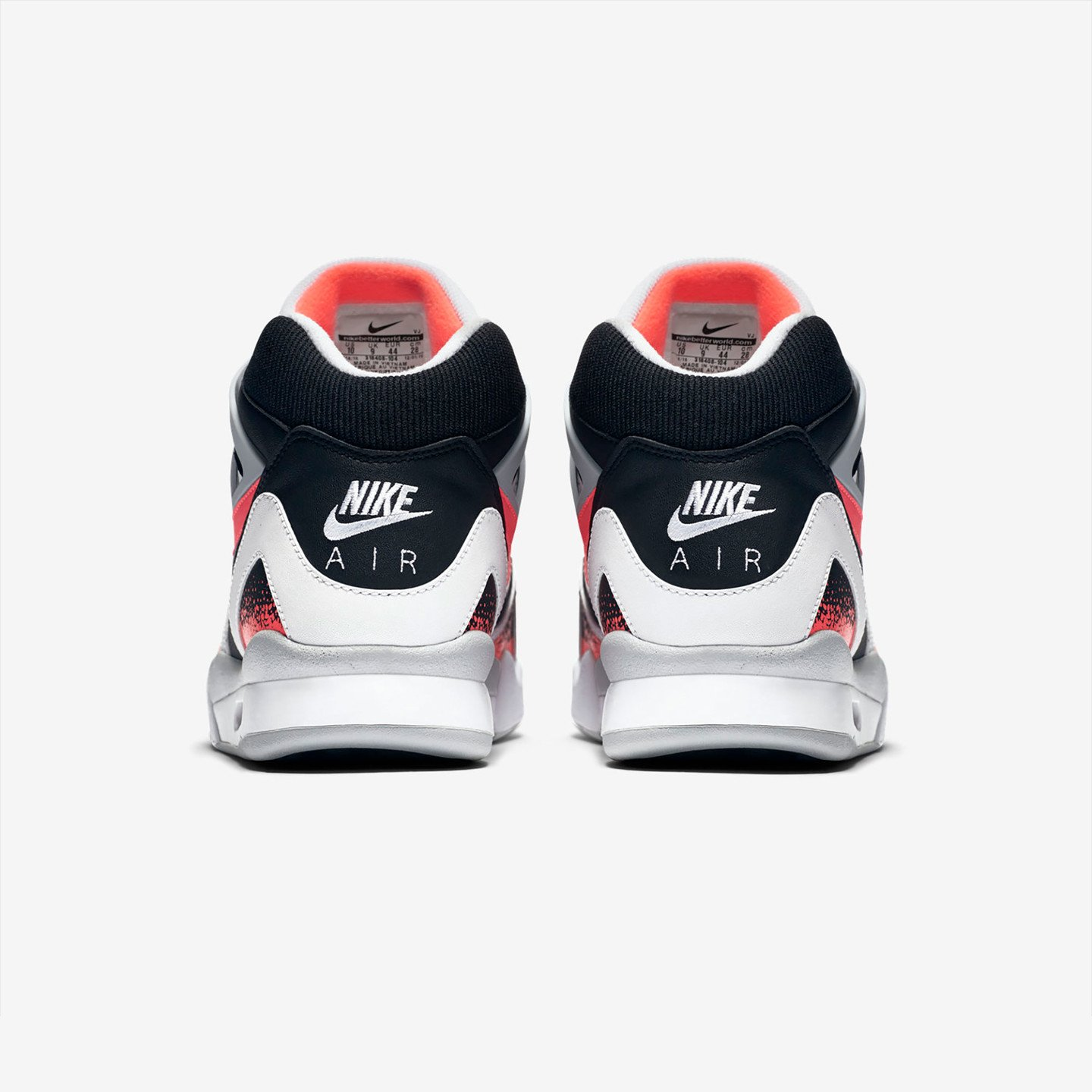 Nike Air Tech Challenge II White / Hot Lava 318408-104-46