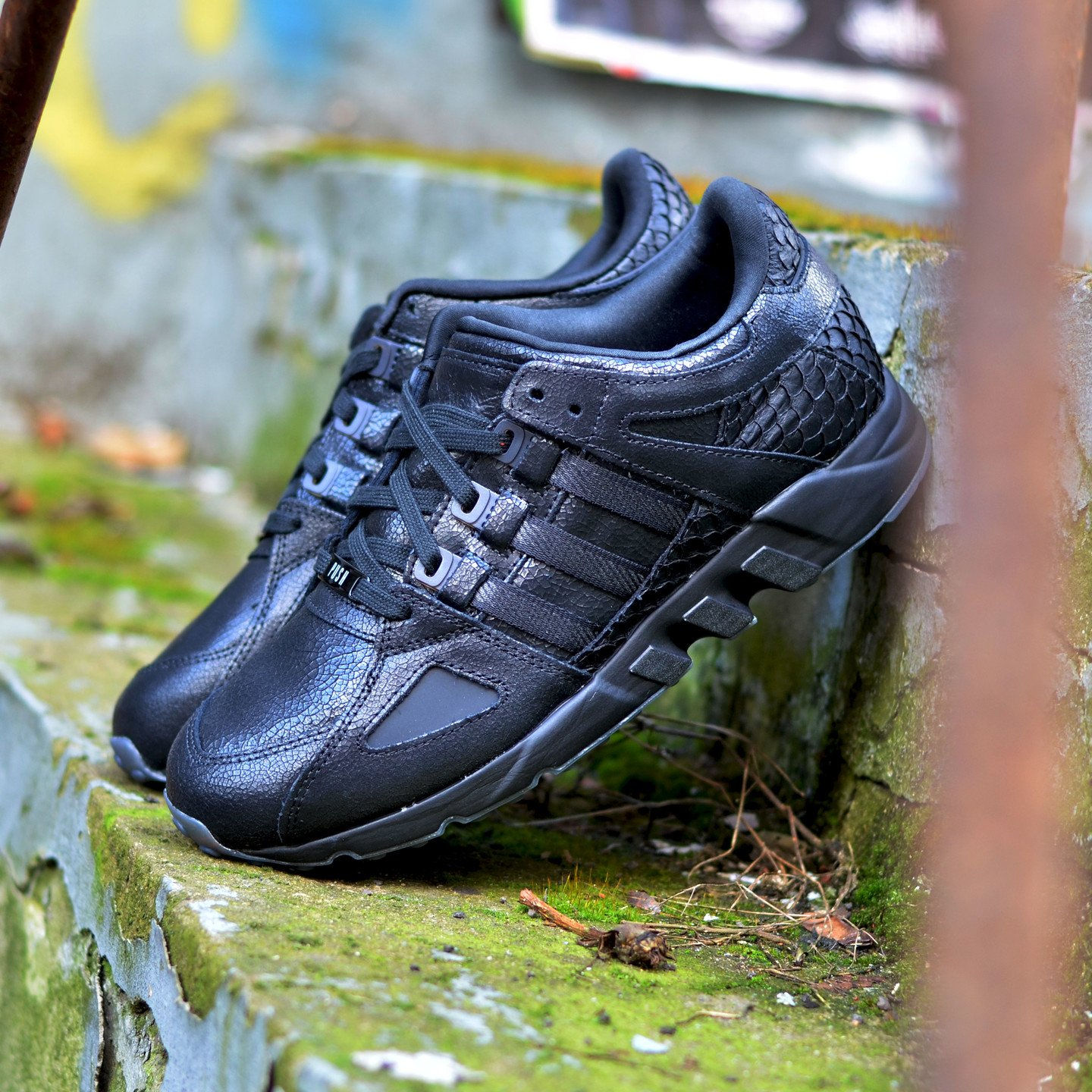 Adidas Pusha T x EQT Running Guidance ´93 Core Black AQ7433-38