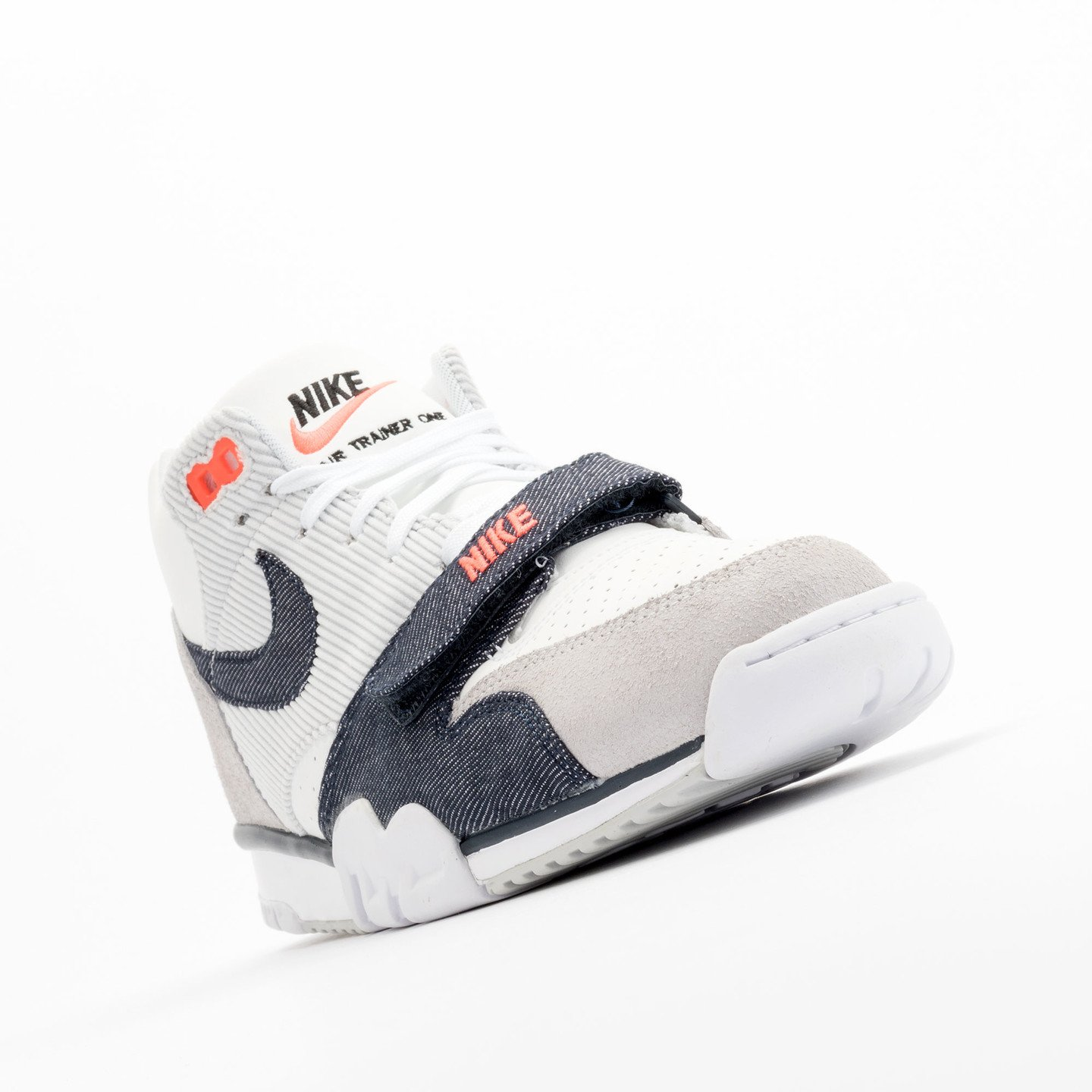 Nike Air Trainer 1 Mid White / Obsidian / Pure Platinum 317554-103-42.5
